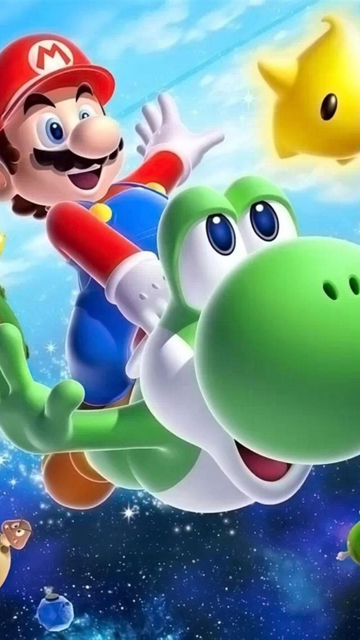 Mario Mario 2 3Wallpapers iPhone Parallax Mario 2