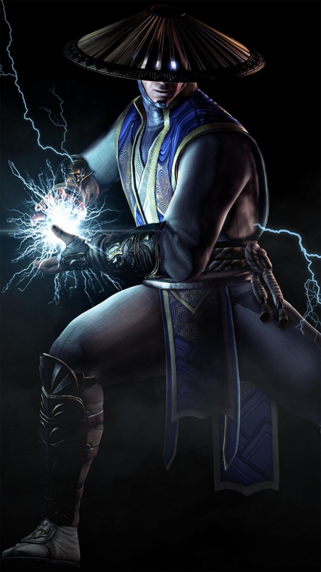 Mortal Kombat X Raiden 3Wallpapers iPhone Parallax Raiden