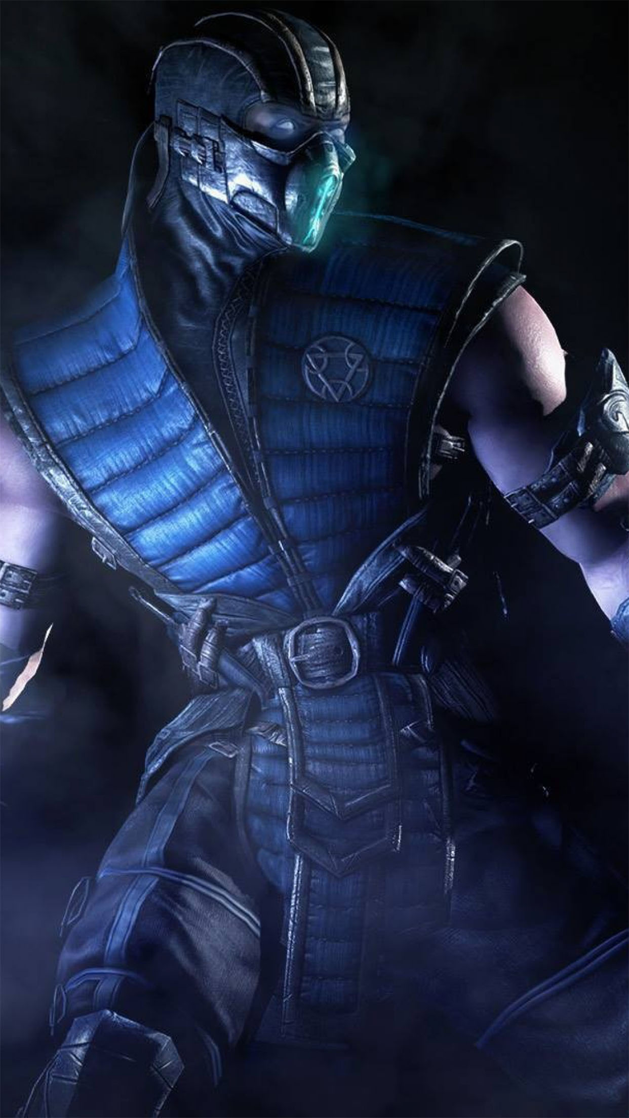 Mortal Kombat X Sub Zero 3Wallpapers iPhone Parallax Sub Zero