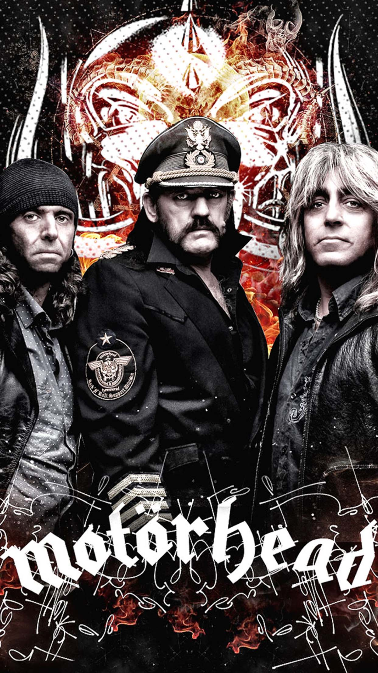 Motörhead Motörhead Group 3Wallpapers iPhone Parallax Motörhead