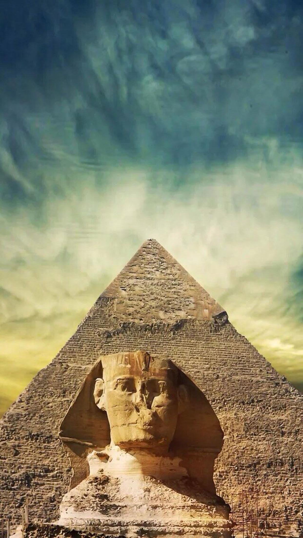 Pyramide Pyramide 1 3Wallpapers iPhone Parallax Pyramide 1