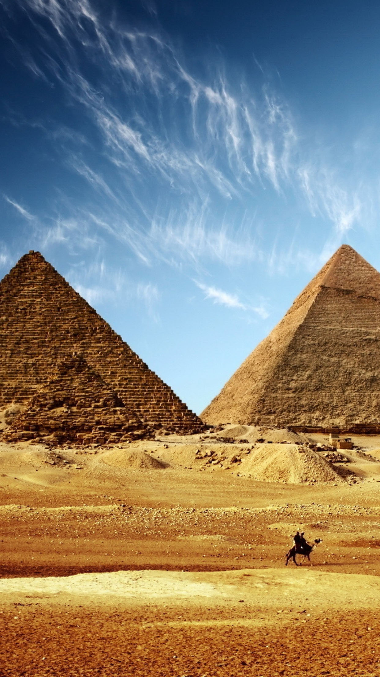 Pyramide Pyramide 3 3Wallpapers iPhone Parallax Pyramide 3