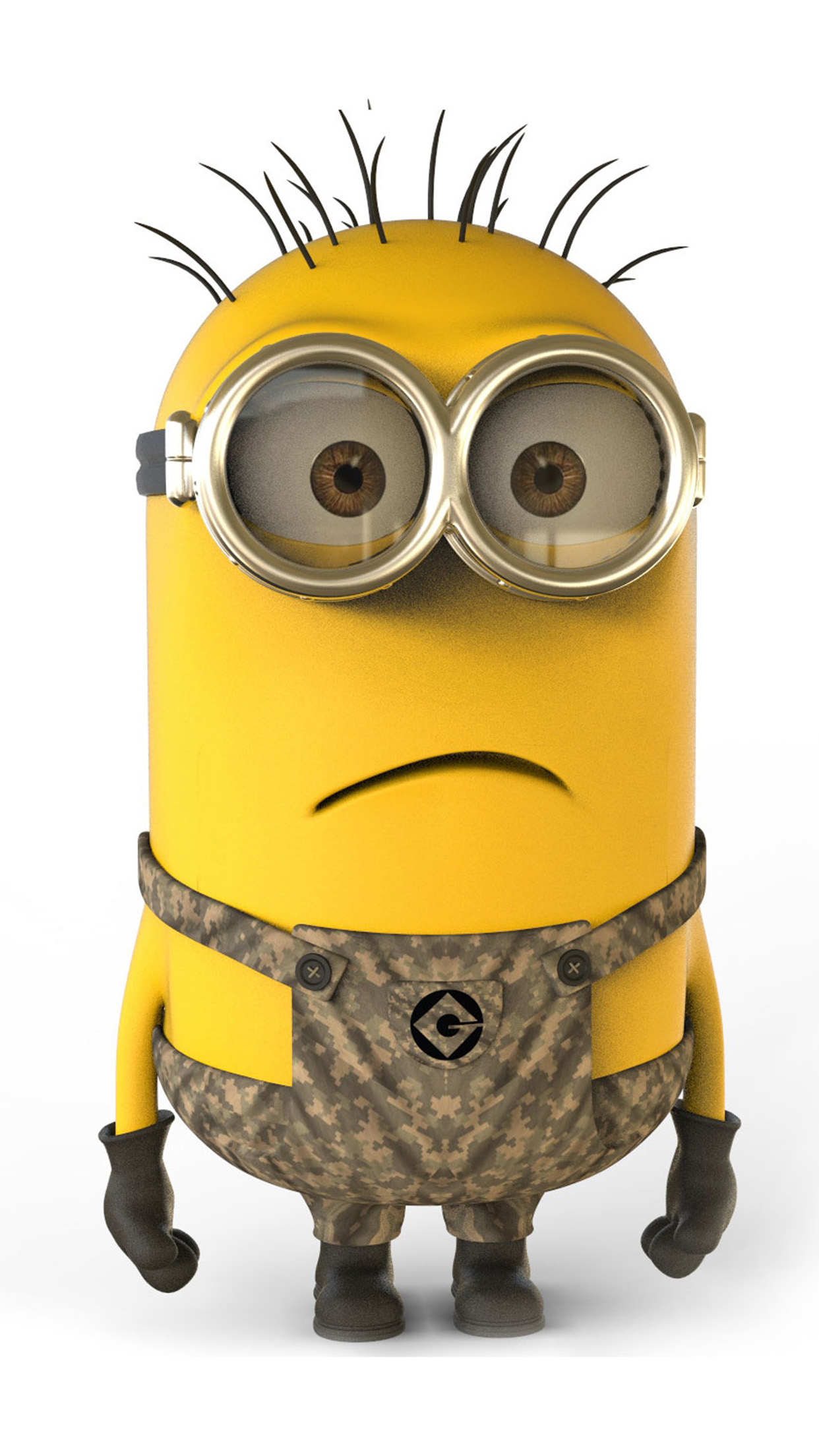 Despicable Me Call of duty 3Wallpapers iPhone Parallax Despicable Me art: Call of duty