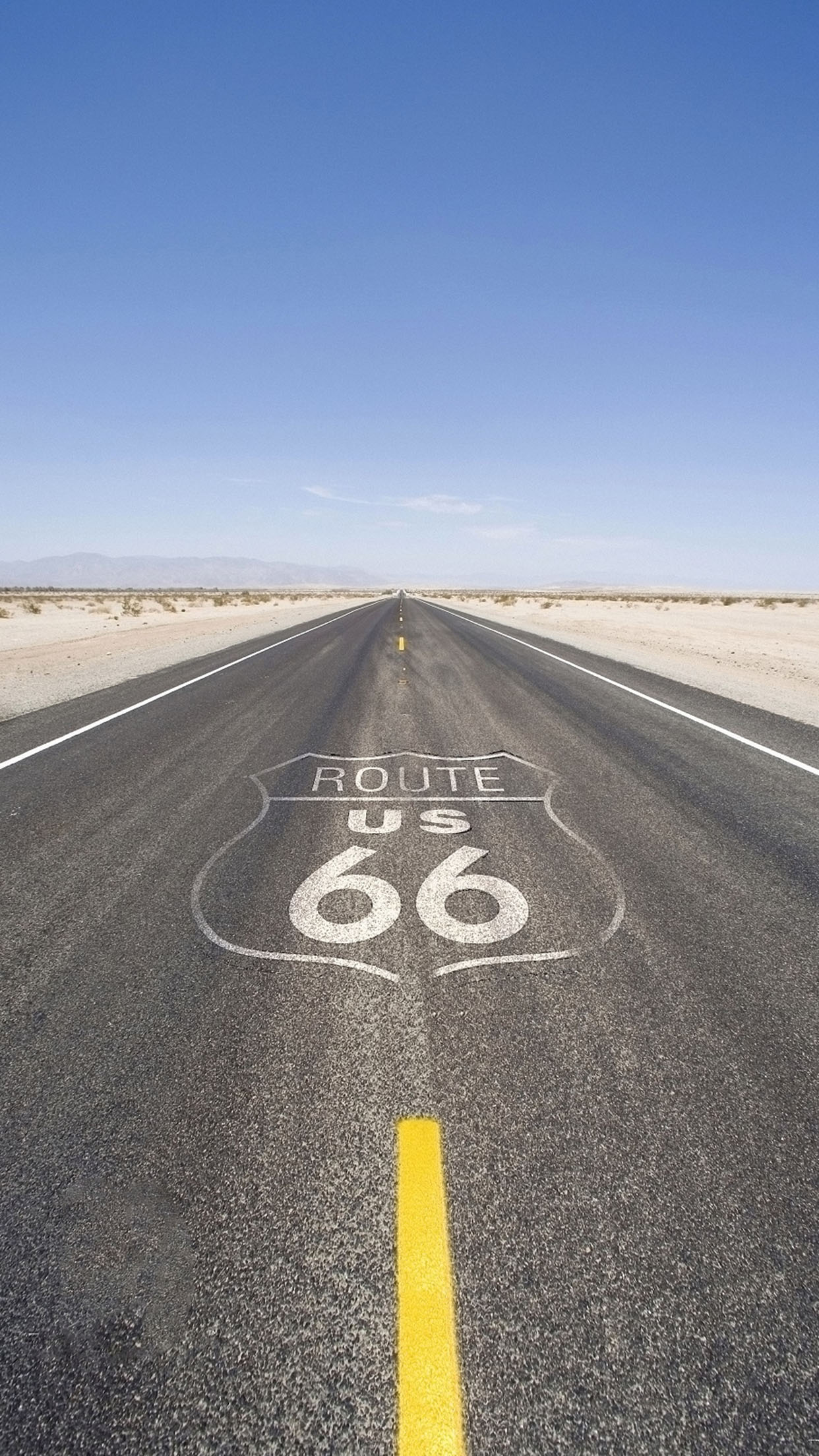 Route 66 Route 66 3 3Wallpapers iPhone Parallax Route 66 (3)
