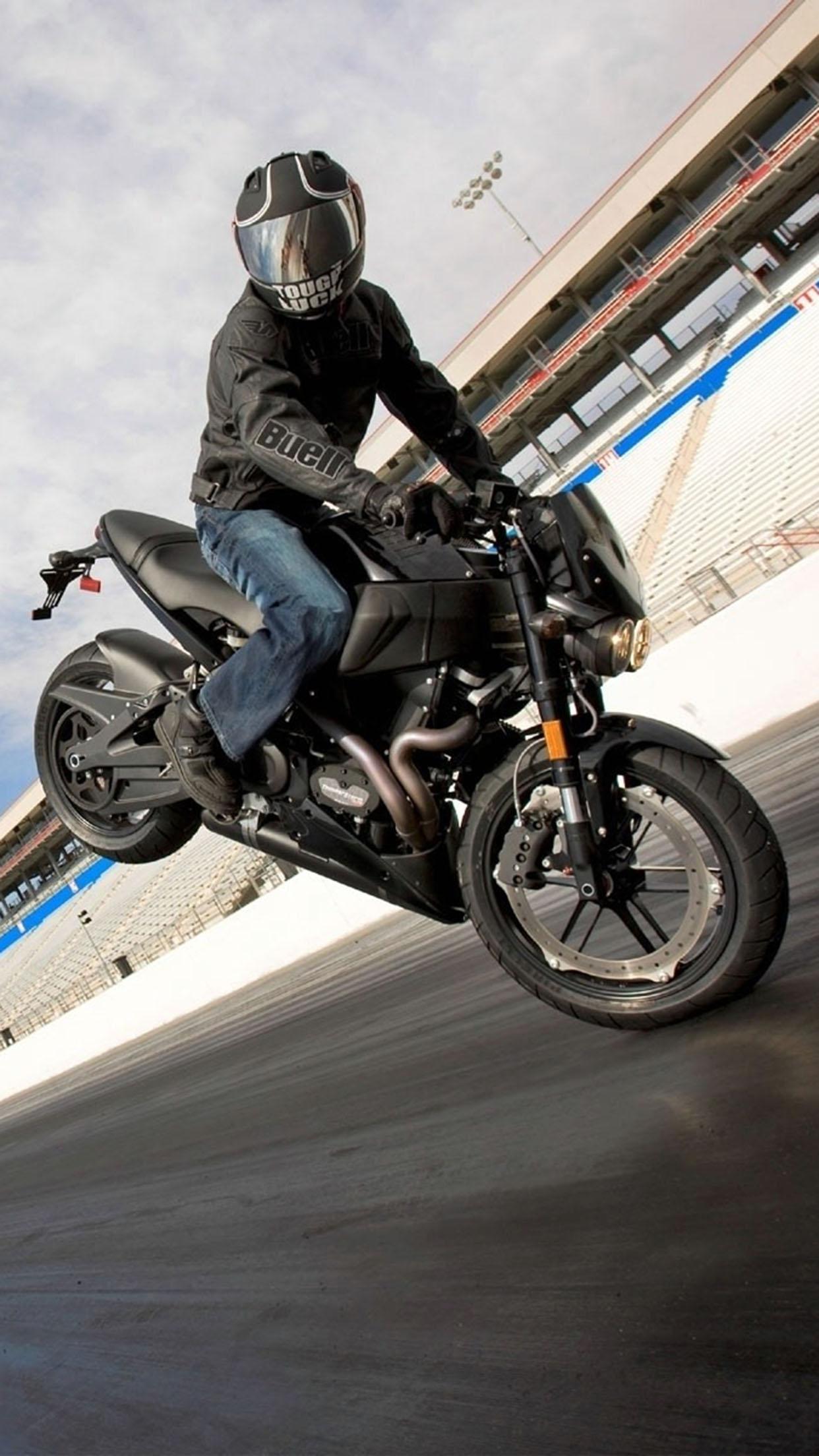 Supermotard moto Bike stunt 3Wallpapers iPhone Parallax Bike stunt