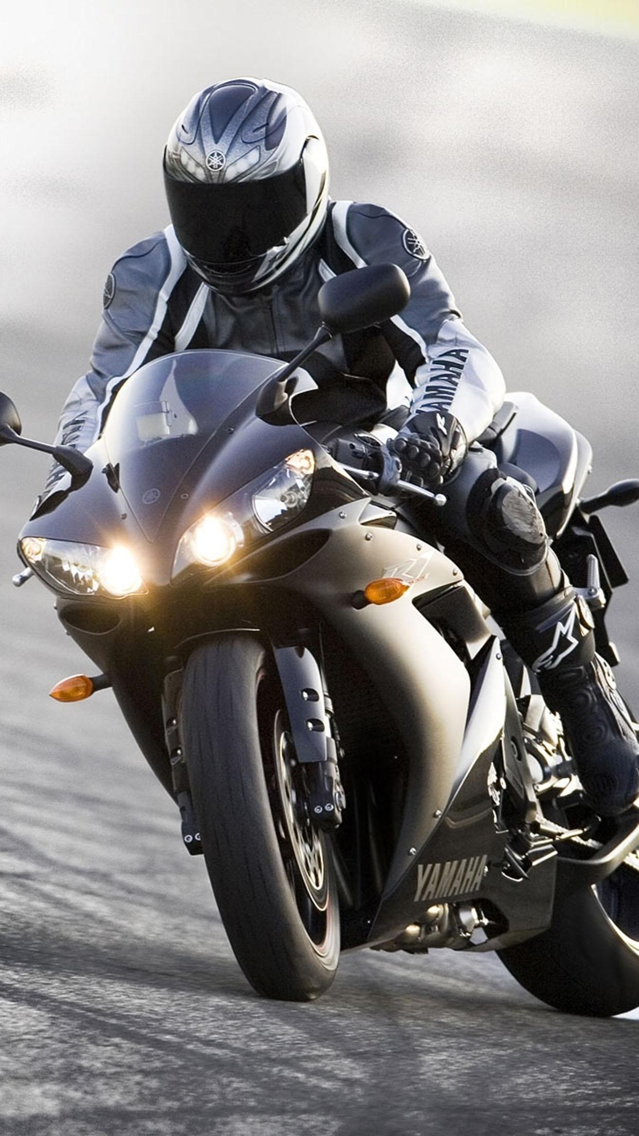 Supermotard moto Yamaha moto 3Wallpapers iPhone Parallax Yamaha Bike