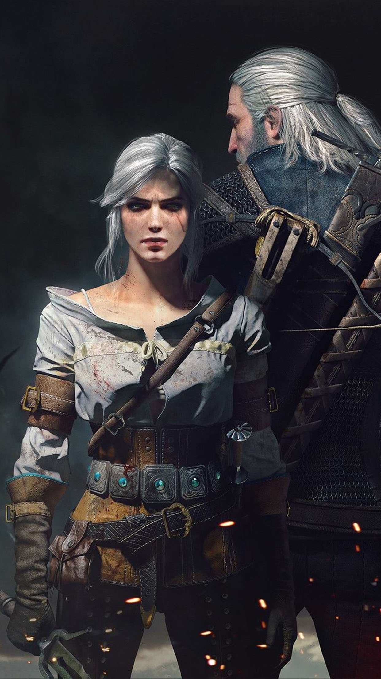 The Witcher 3 Wild Hunt 2 Wallpaper For Iphone X 8 7 6