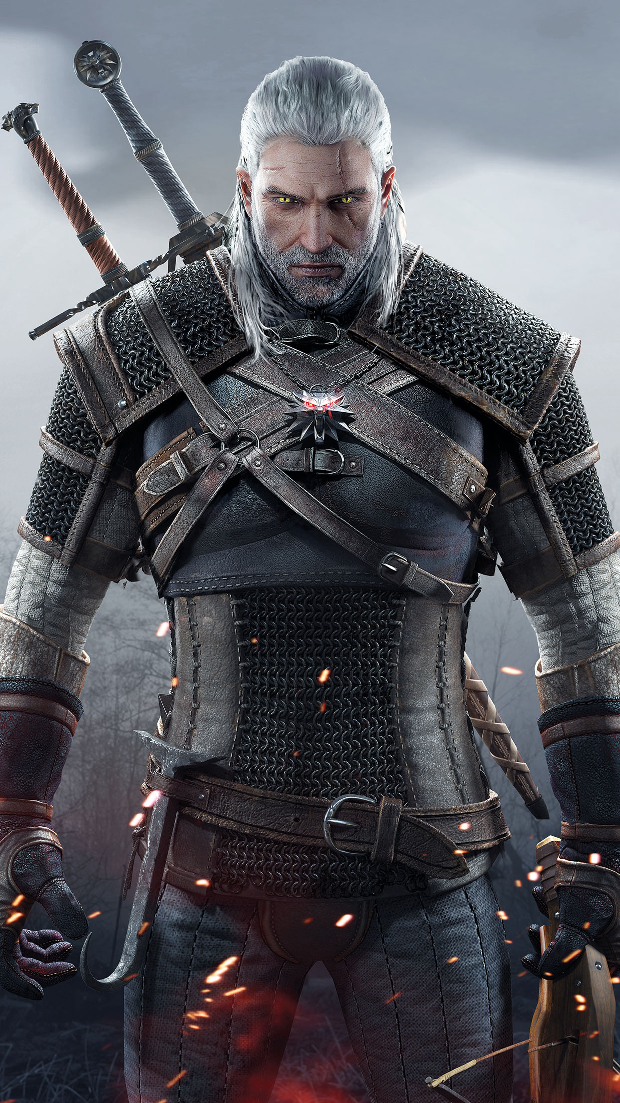The Witcher 3 Wild Hunt The Witcher 3 3 3Wallpapers iPhone Parallax The Witcher 3: Wild Hunt (3)