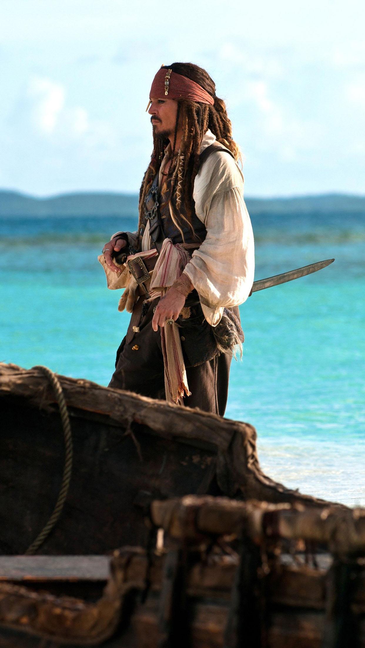 Captain Jack Sparrow Captain Jack Sparrow 2 3Wallpapers iPhone Parallax Captain Jack Sparrow 2