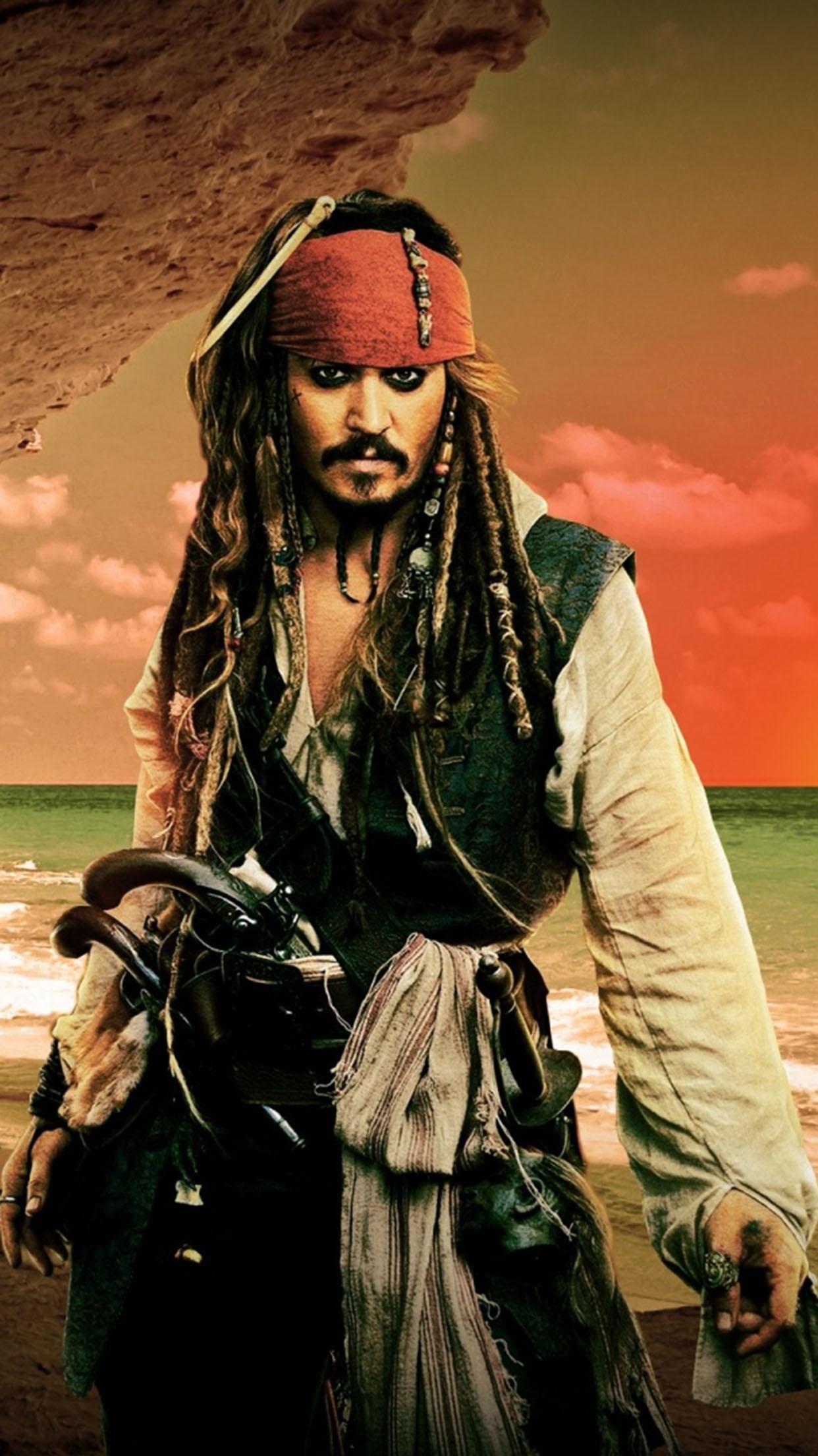 Captain Jack Sparrow Captain Jack Sparrow 3 3Wallpapers iPhone Parallax Captain Jack Sparrow 3