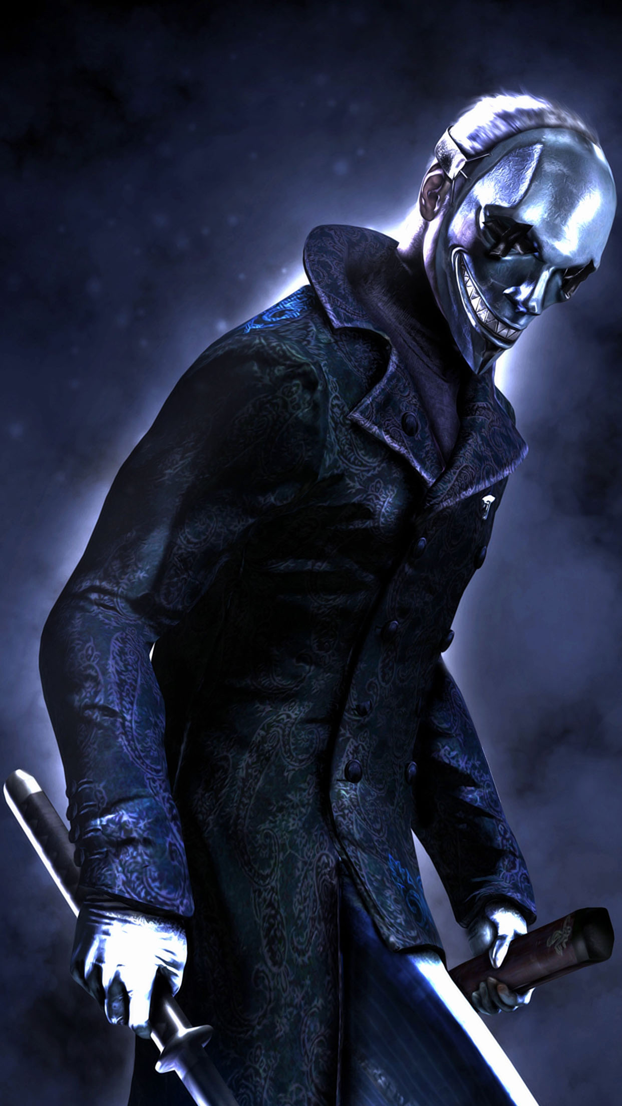 Devil May Cry Vergil 3Wallpapers iPhone Parallax Devil May Cry: Vergil