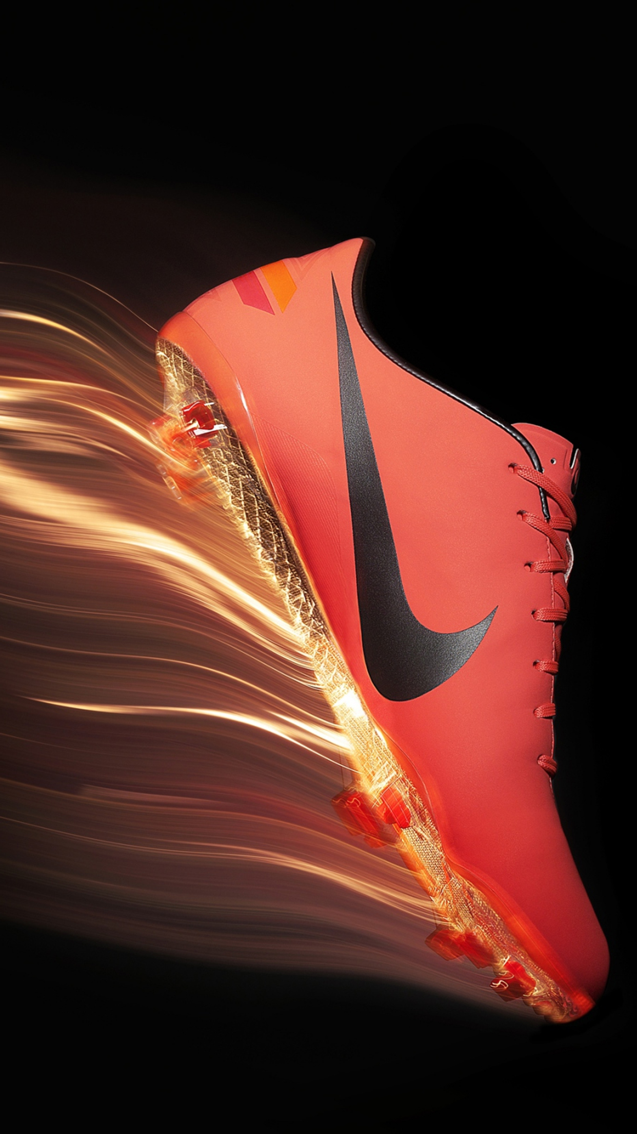 Football Mercurial boots 3Wallpapers iPhone Parallax Football: Mercurial boots