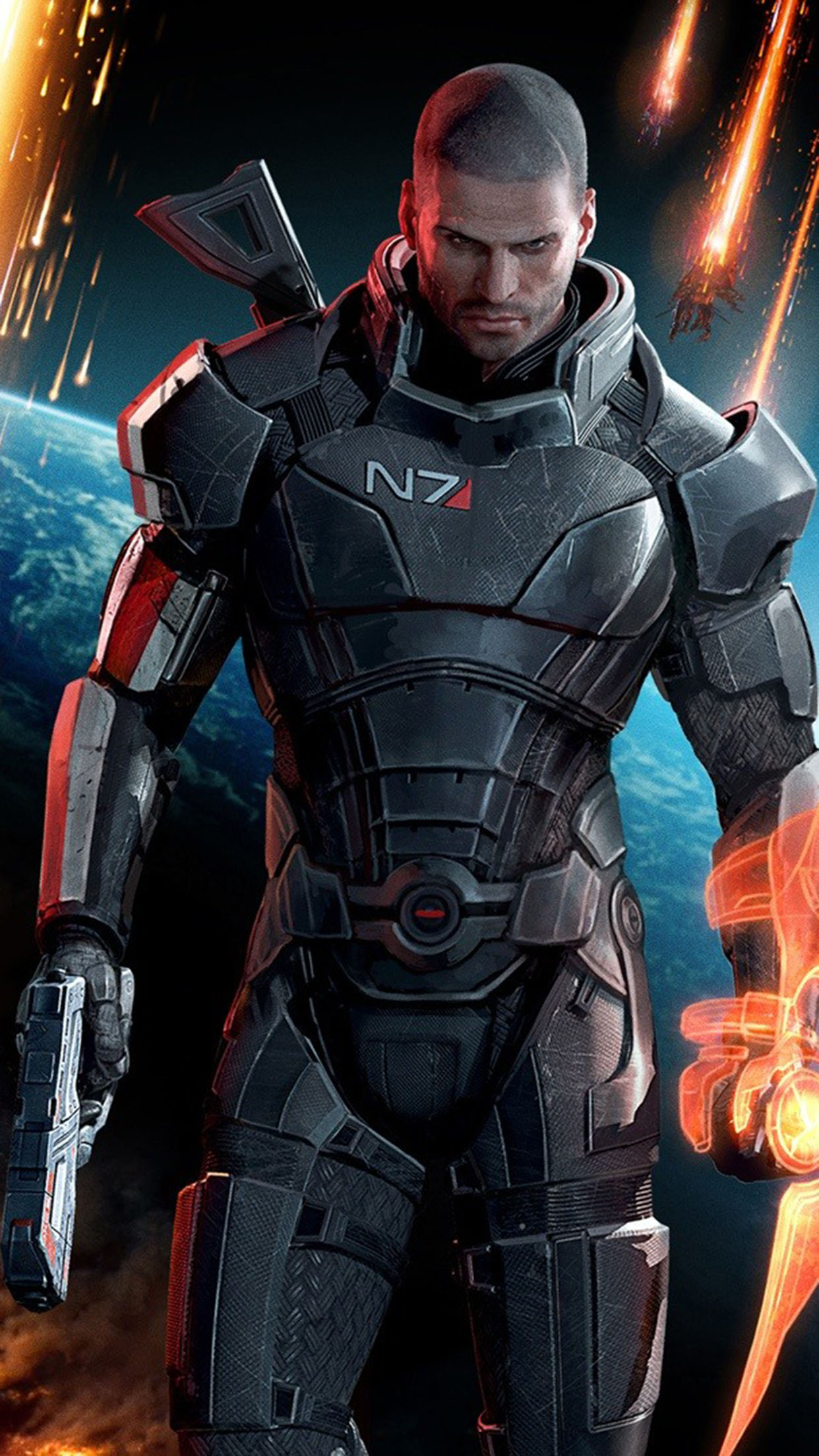 Mass Effect Mass Effect Mass Effect 1 3Wallpapers iPhone Parallax 3Wallpapers : notre sélection de fonds d'écran du 30/11/2016
