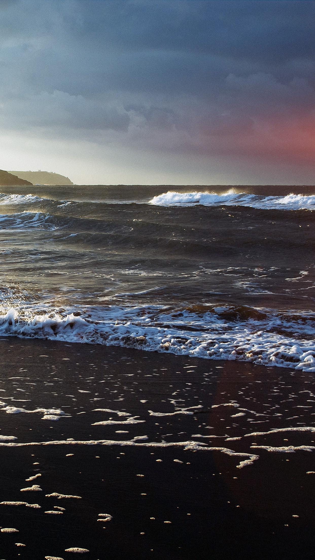 Beach Costal nature 3Wallpapers iPhone Parallax 3Wallpapers : notre sélection de fonds d'écran du 02/12/2016