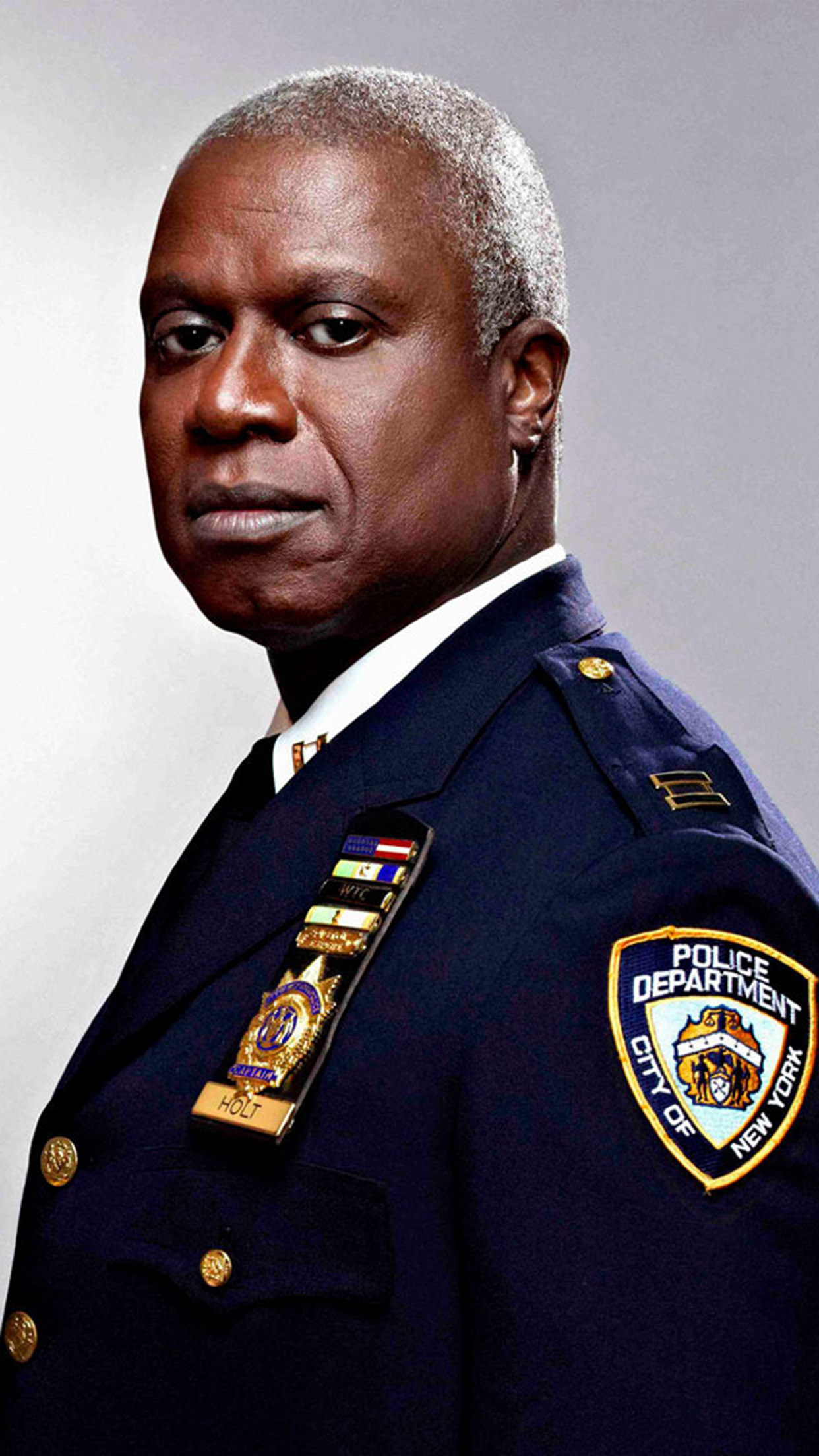 Brooklyn Nine Nine Andre Braugher 3Wallpapers iPhone Parallax 3Wallpapers : notre sélection de fonds d'écran du 01/12/2016