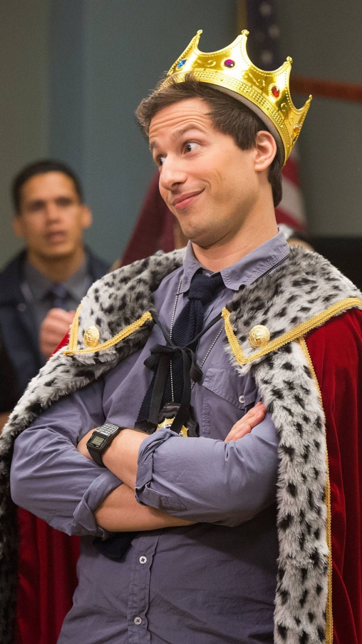 Brooklyn Nine Nine Andy Samberg 3Wallpapers iPhone Parallax Brooklyn Nine nine: Andy Samberg