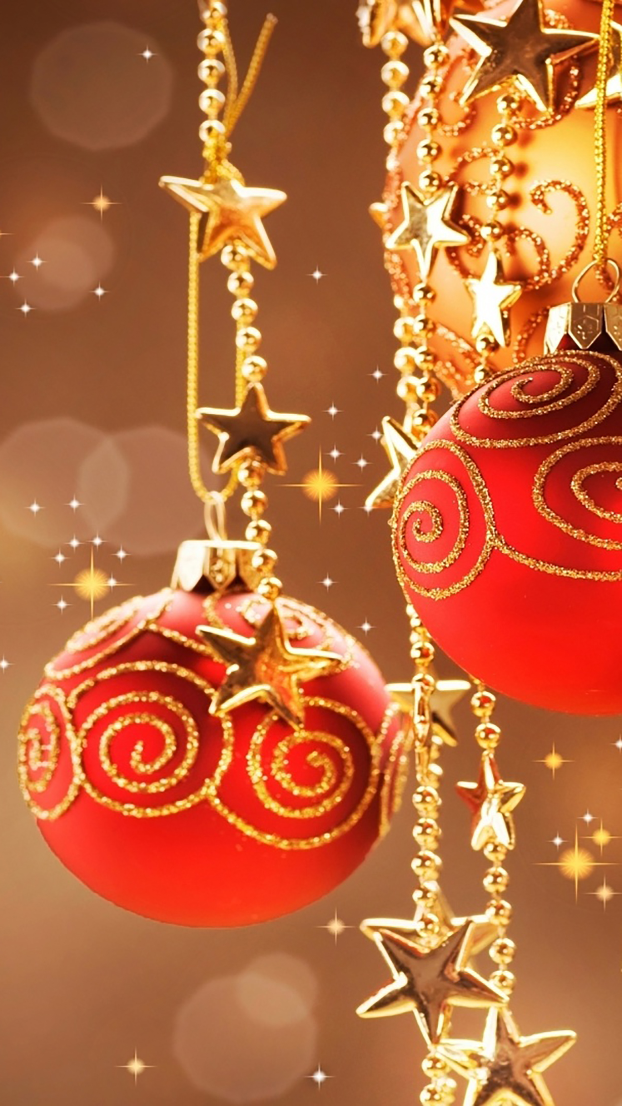 Christmas Decorations 3Wallpapers iPhone Parallax Les 3Wallpapers iPhone du jour (24/12/2016)