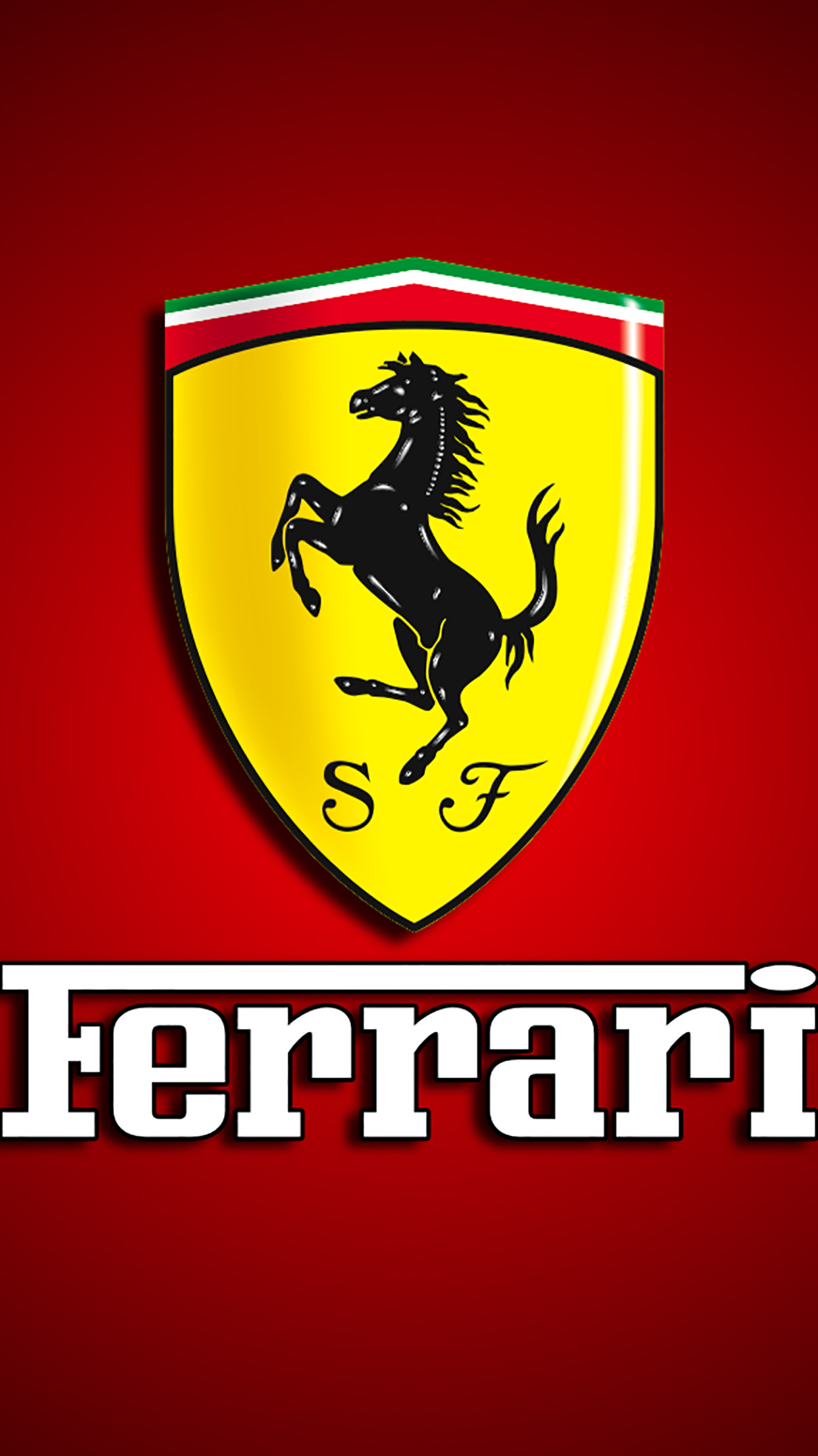 Ferrari Logo 3Wallpapers iPhone Parallax 3Wallpapers : notre sélection de fonds décran du 31/12/2016