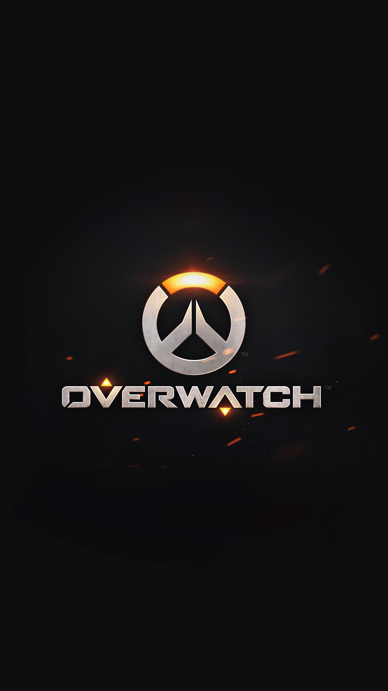 Overwatch Logo 3Wallpapers iPhone Parallax Overwatch: Logo