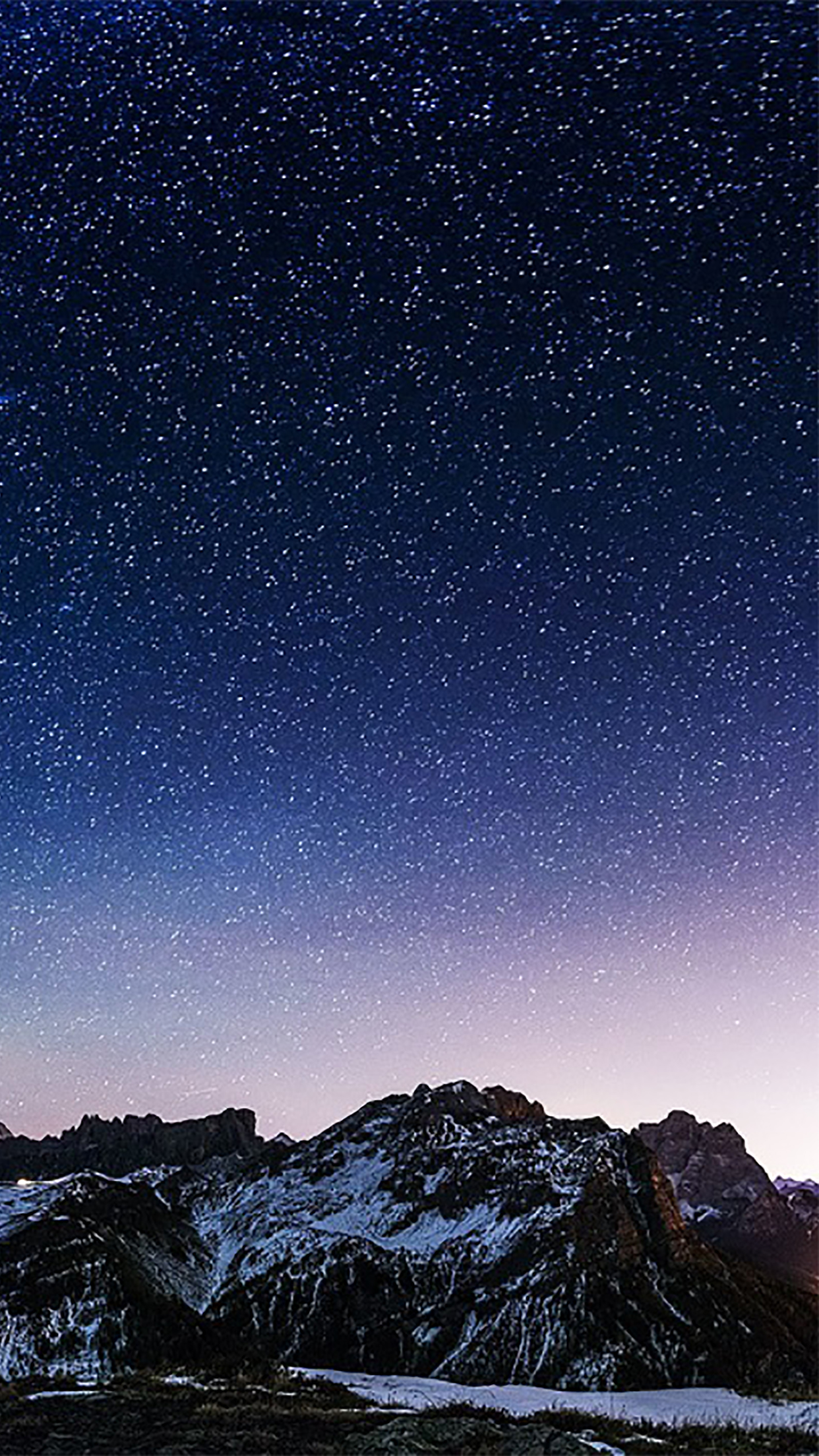 Sky Sky with Stars 3Wallpapers iPhone Parallax Les 3Wallpapers iPhone du jour (17/12/2016)