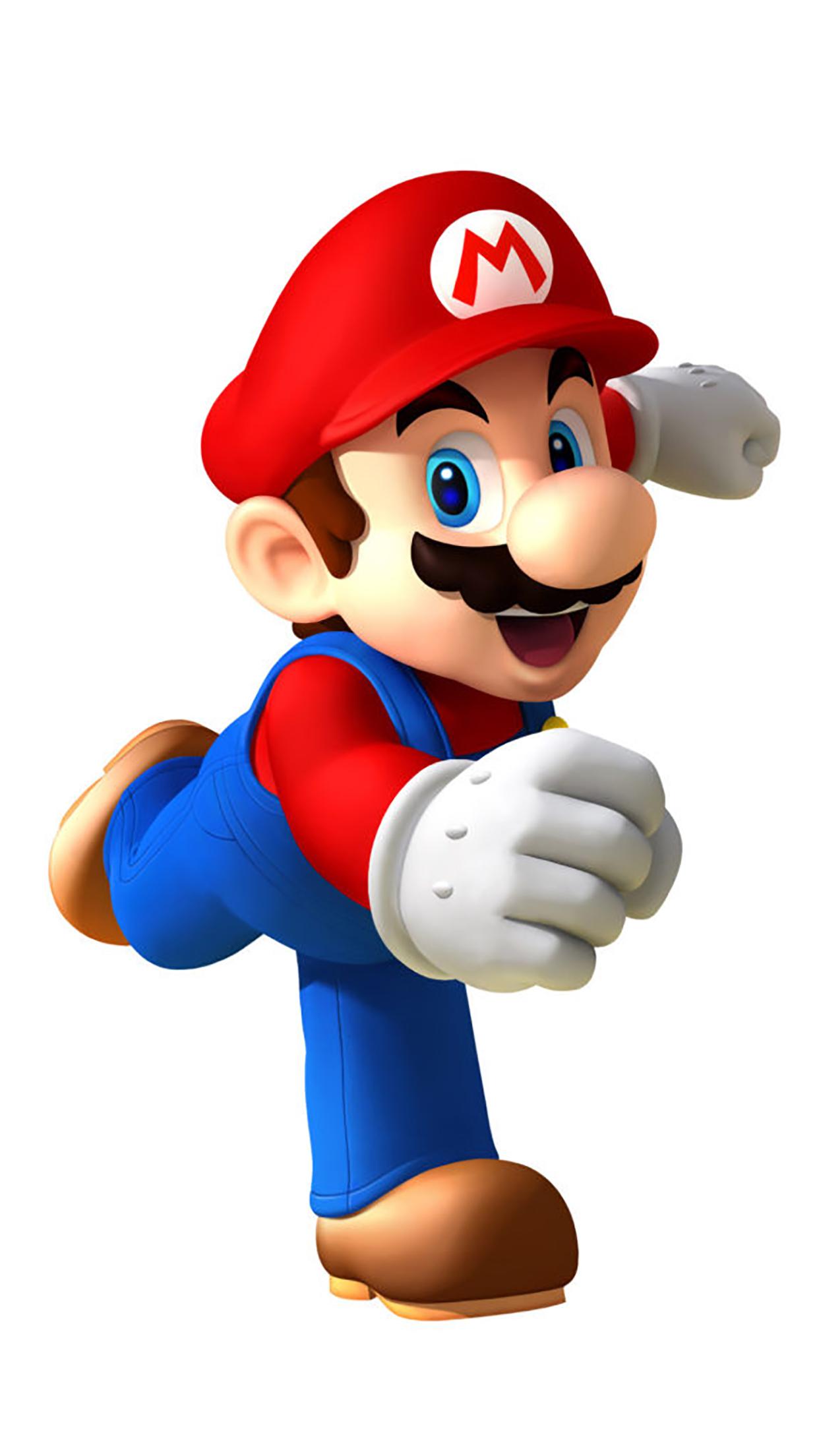 Super Mario Running 3Wallpapers iPhone Parallax Les 3Wallpapers iPhone du jour (18/12/2016)