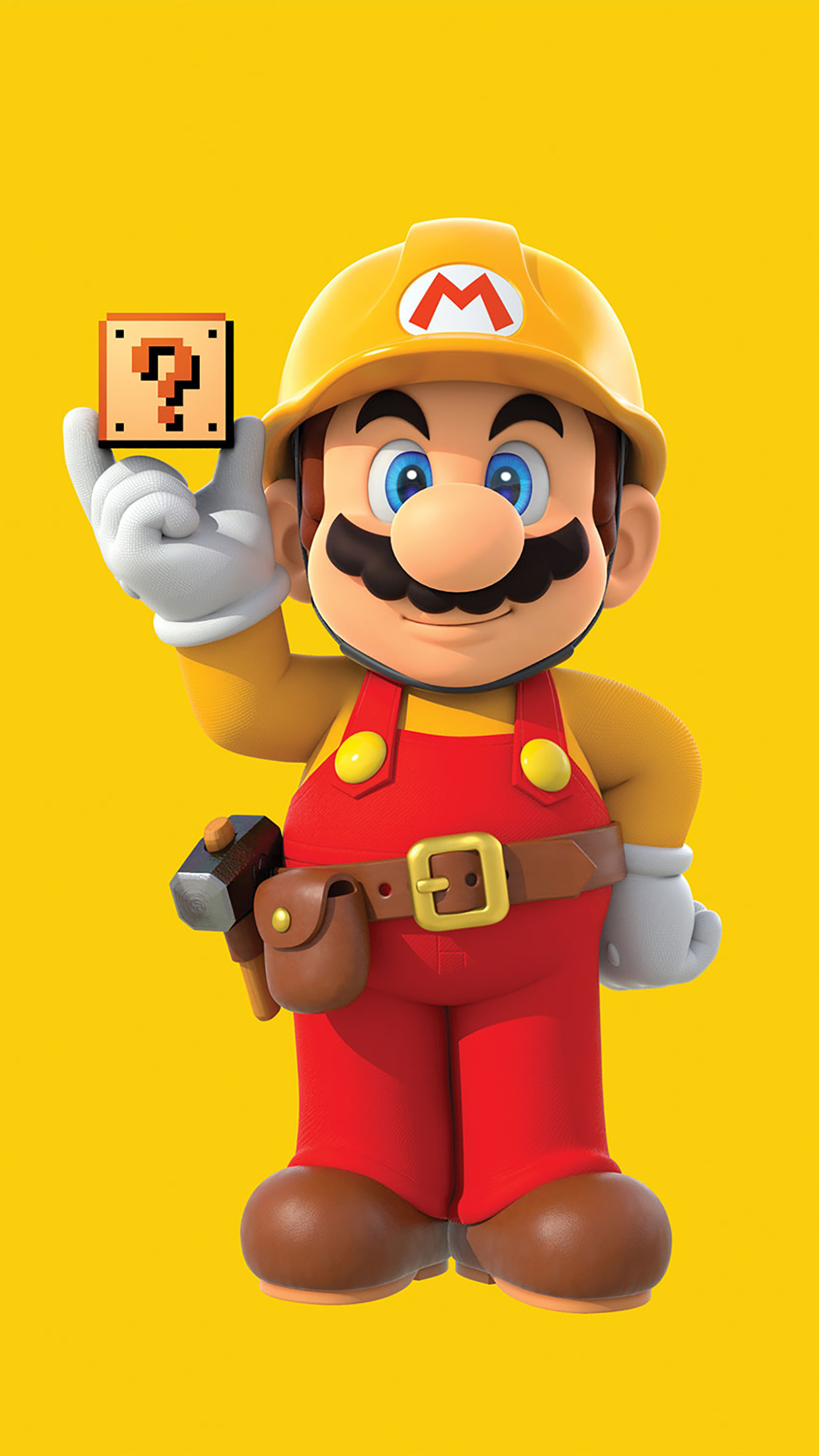 Super Mario Stand Up 3Wallpapers iPhone Parallax Les 3Wallpapers iPhone du jour (18/12/2016)