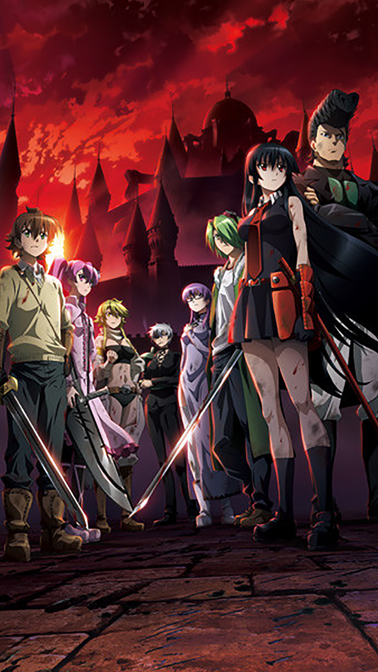 Akame Ga Kill Team 3Wallpapers iPhone Parallax Akame Ga Kill : Team