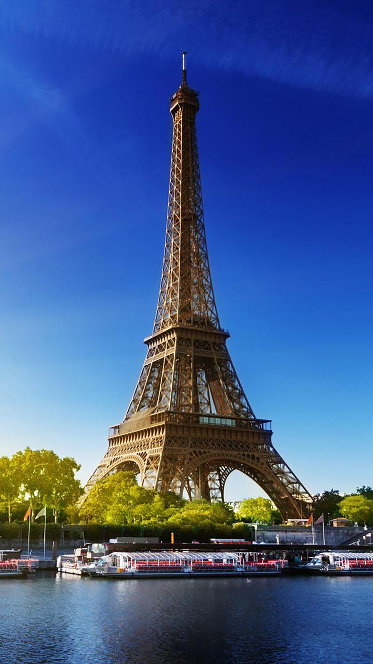 Eiffel Tower Seine 3Wallpapers iPhone Parallax Eiffel Tower Seine