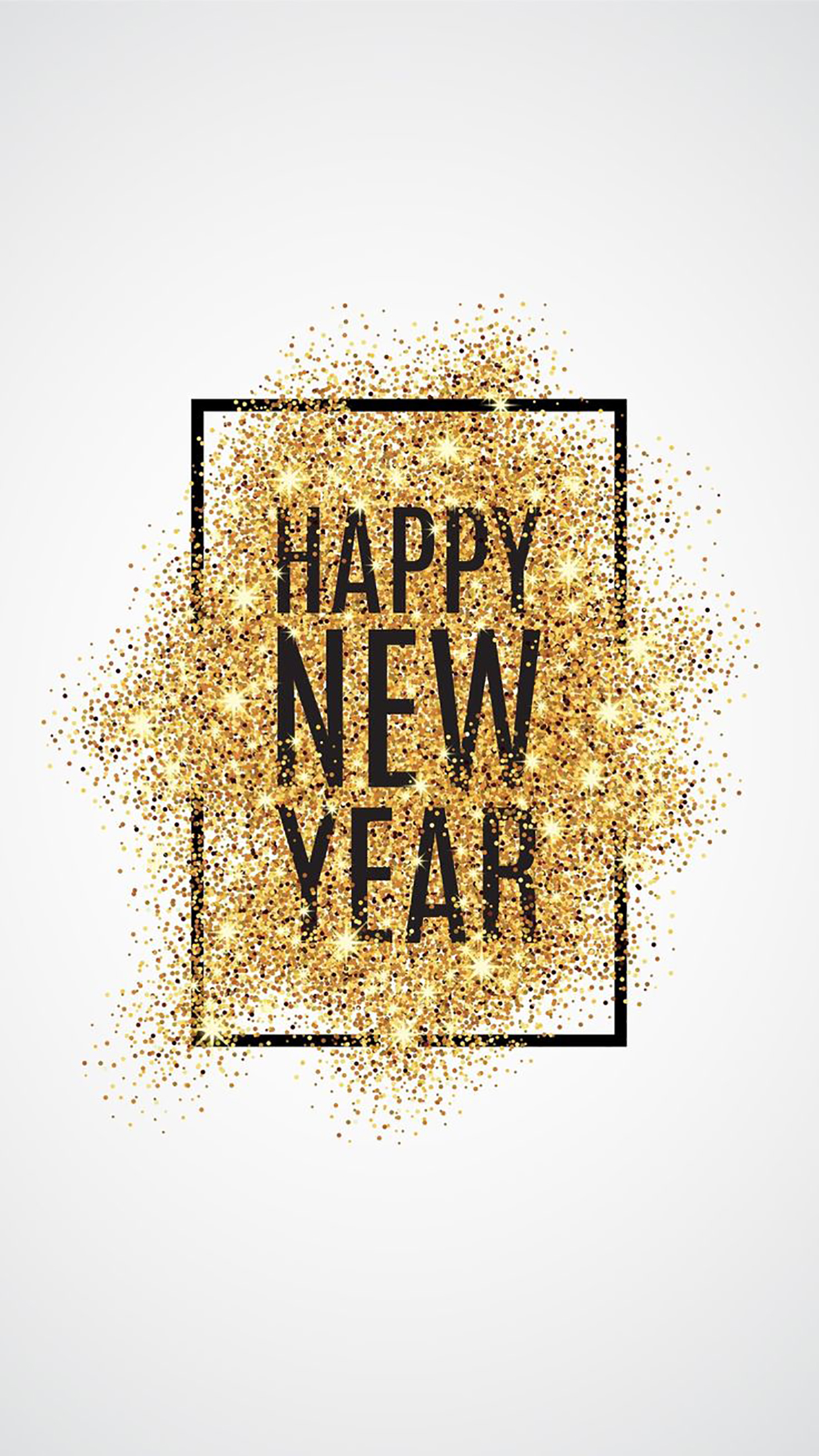 Happy New Year 2 3Wallpapers iPhone Parallax Les 3Wallpapers iPhone du jour (01/01/2017)