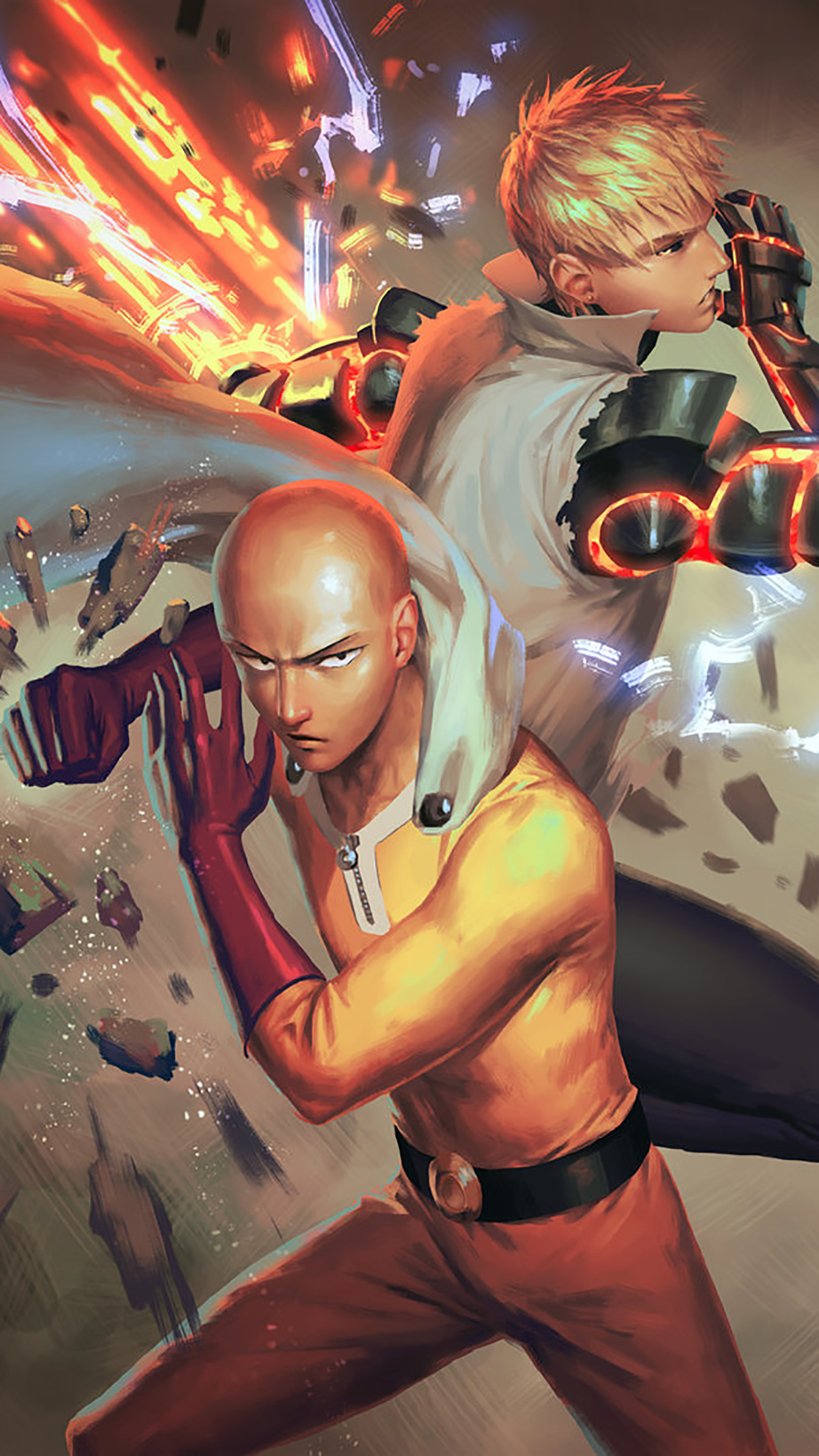 One Punch Man Fight 3Wallpapers iPhone Parallax 3Wallpapers : notre sélection de fonds décran du 22/01/2017