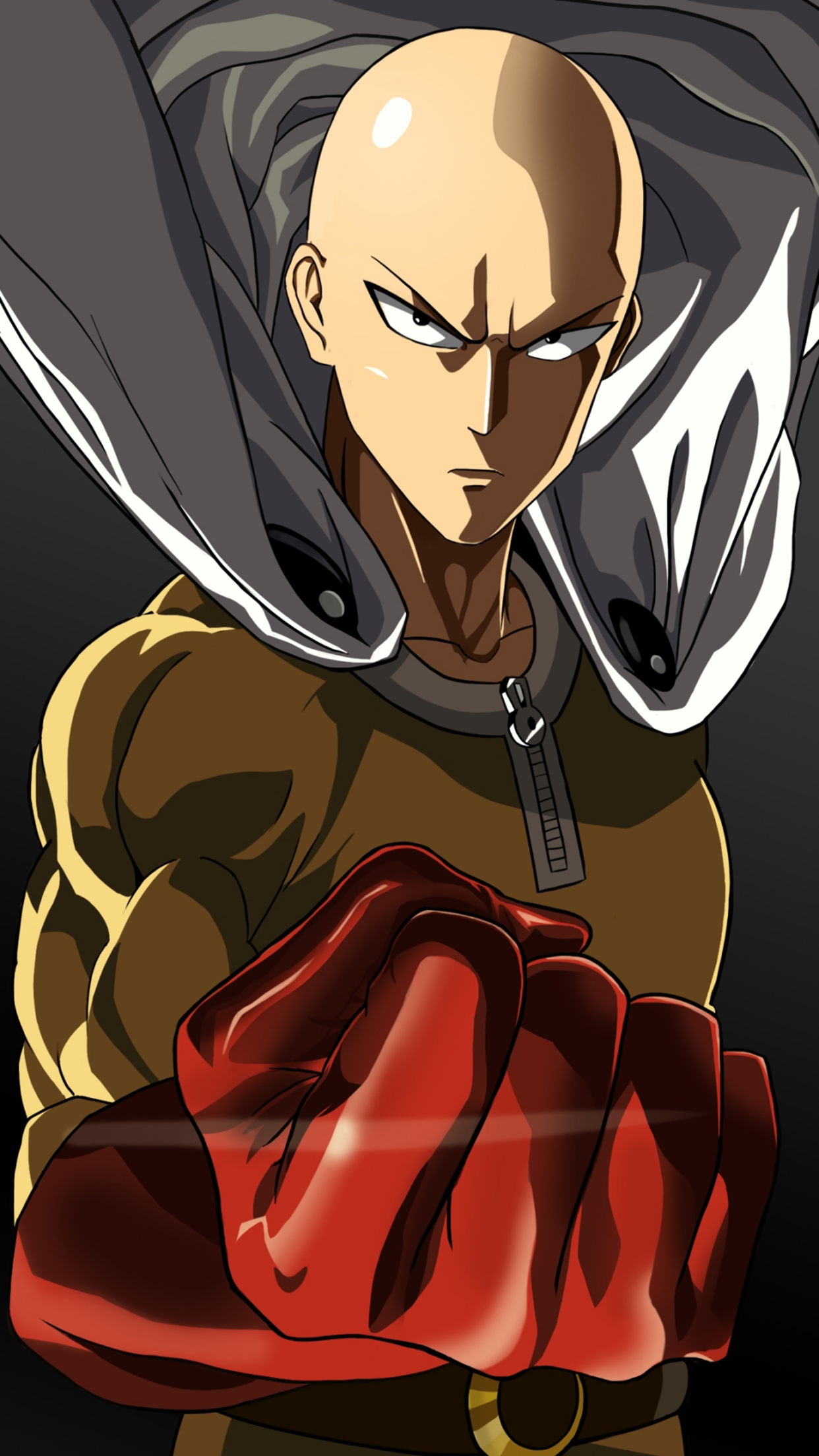 One Punch Man Standing 3Wallpapers iPhone Parallax 3Wallpapers : notre sélection de fonds décran du 22/01/2017