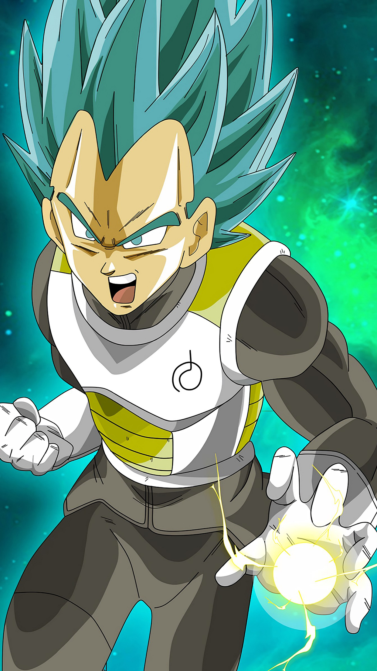 Special Vegeta Mad 3Wallpapers iPhone Parallax Special Vegeta : Mad