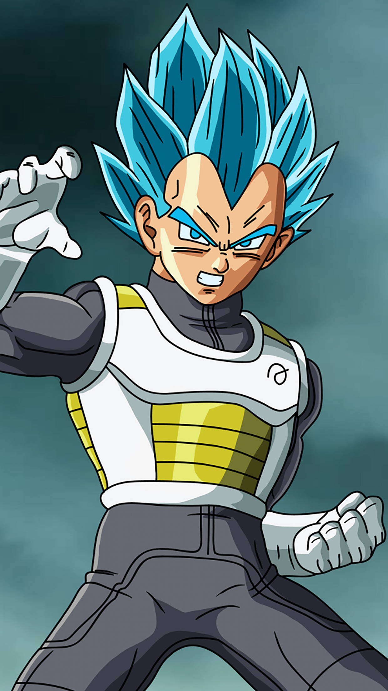 Special Vegeta Standig And Mad 3Wallpapers iPhone Parallax Special Vegeta : Standing and Mad