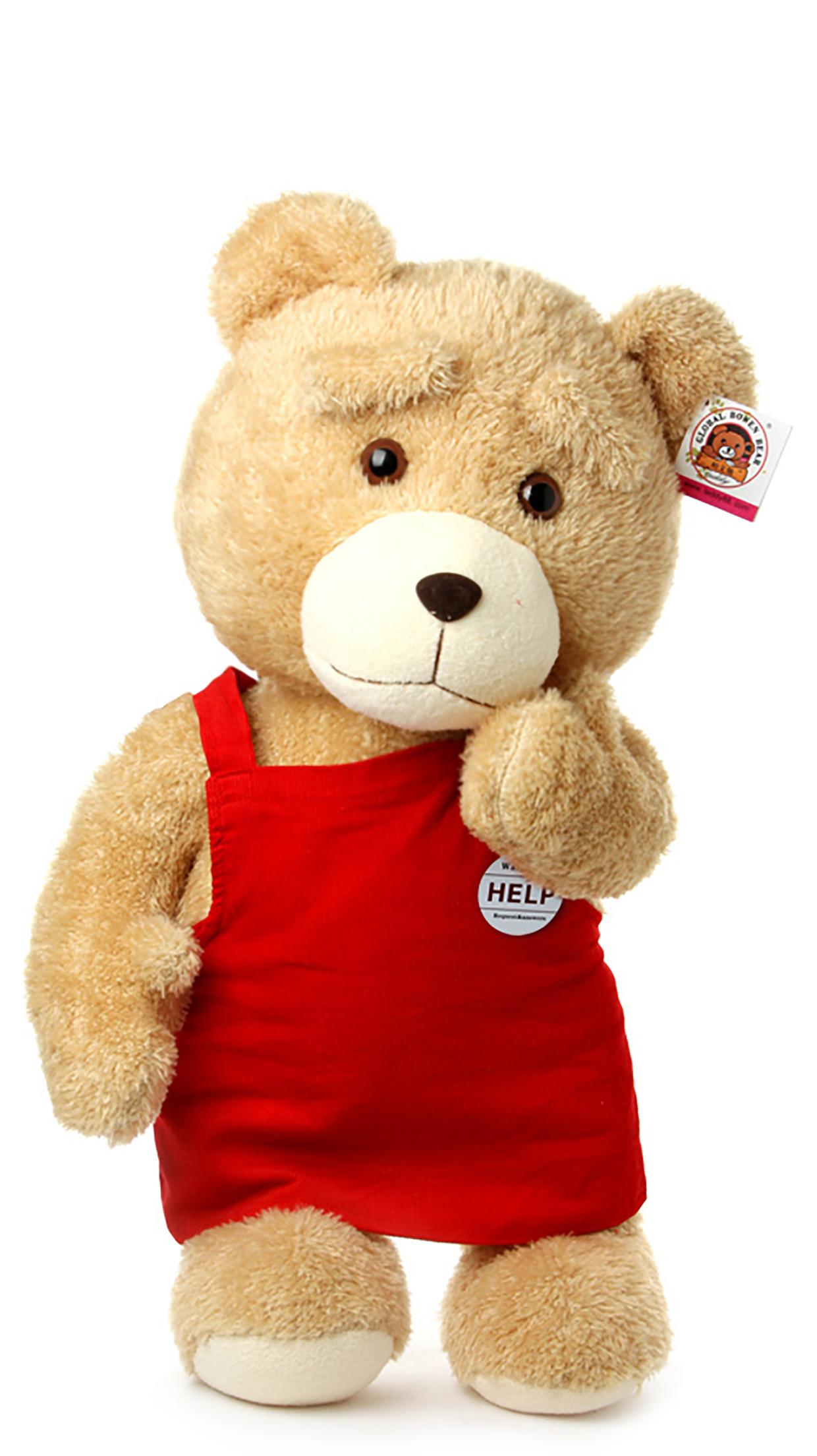 Teddy Bear Sad 3Wallpapers iPhone Parallax Teddy Bear : Sad
