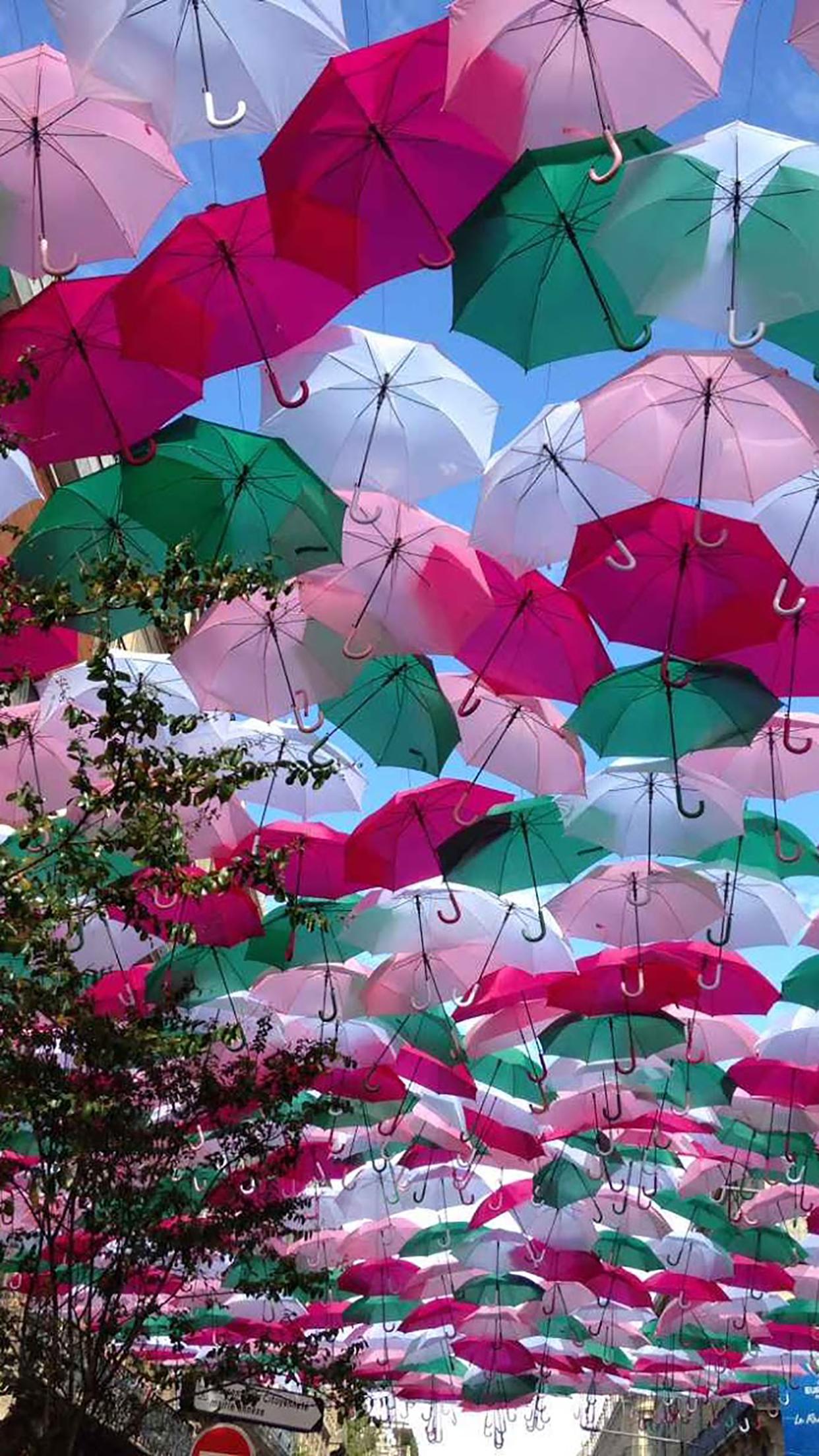 Umbrella Umbrella Roof 3Wallpapers iPhone Parallax Les 3Wallpapers iPhone du jour (13/01/2017)