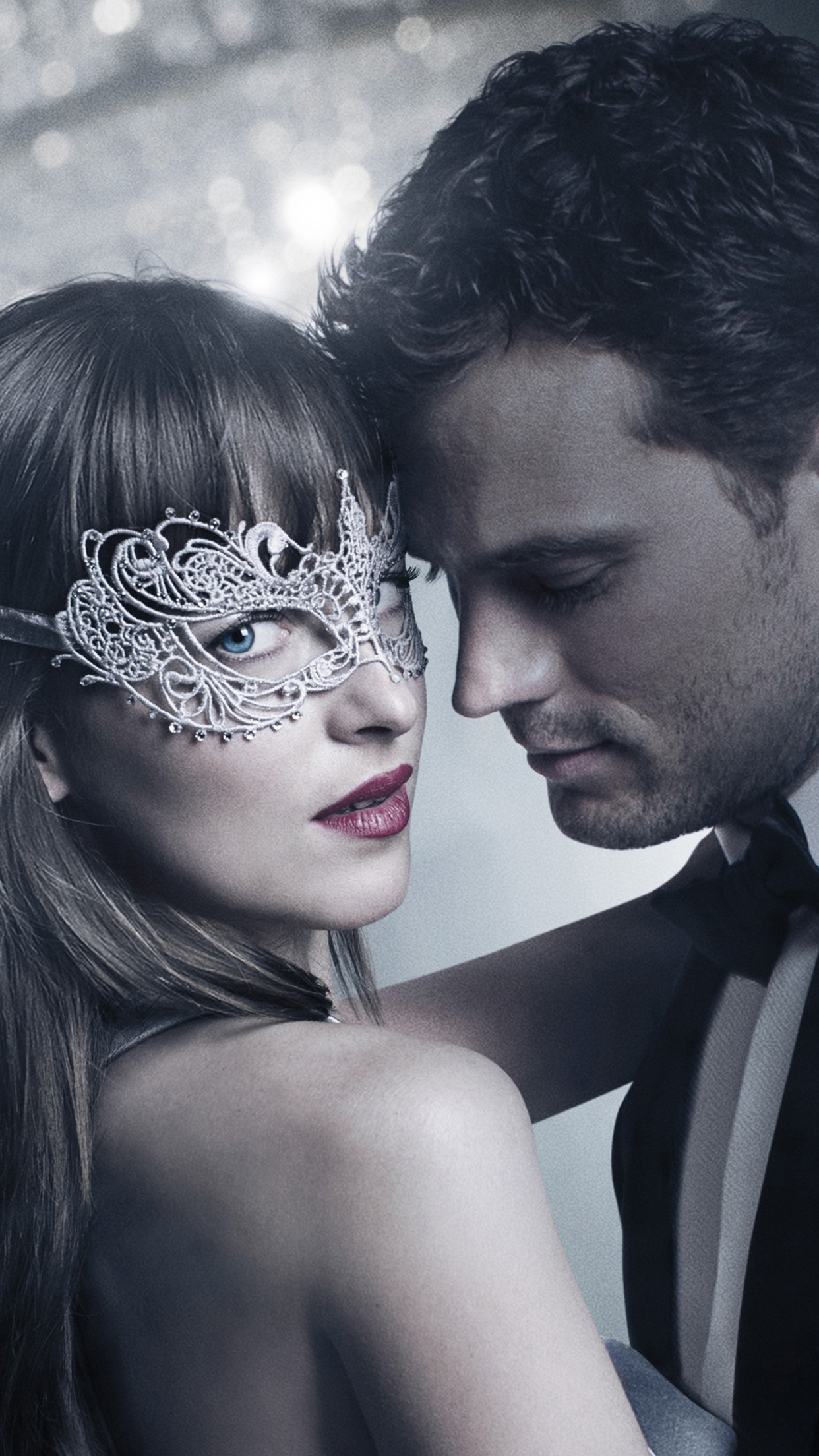 Fifty Shades Darker Christian Ana 3Wallpapers iPhone Parallax Les 3Wallpapers iPhone du jour (14/02/2017)