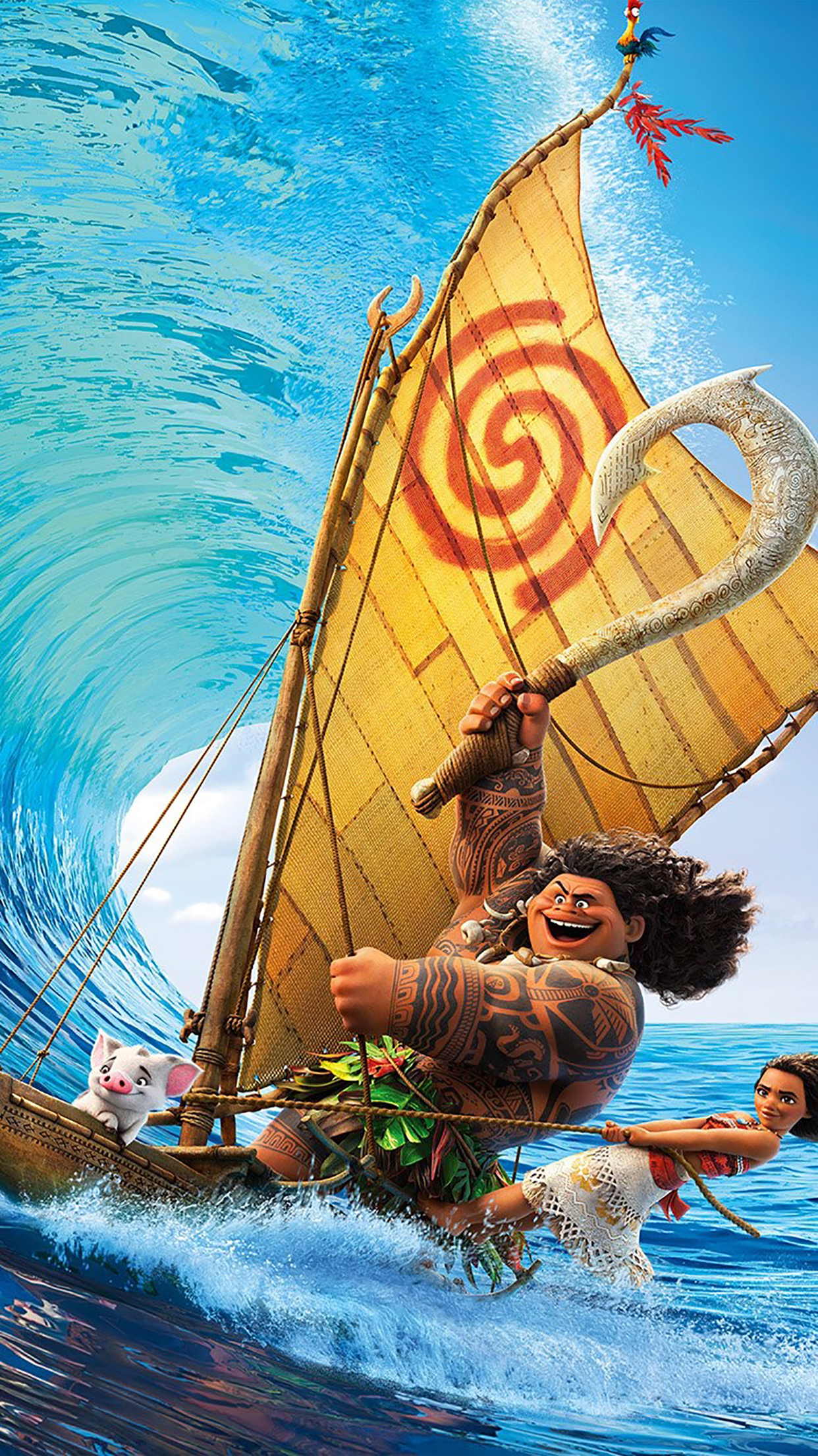 Moana 3 3Wallpapers iPhone Parallax Moana : 3