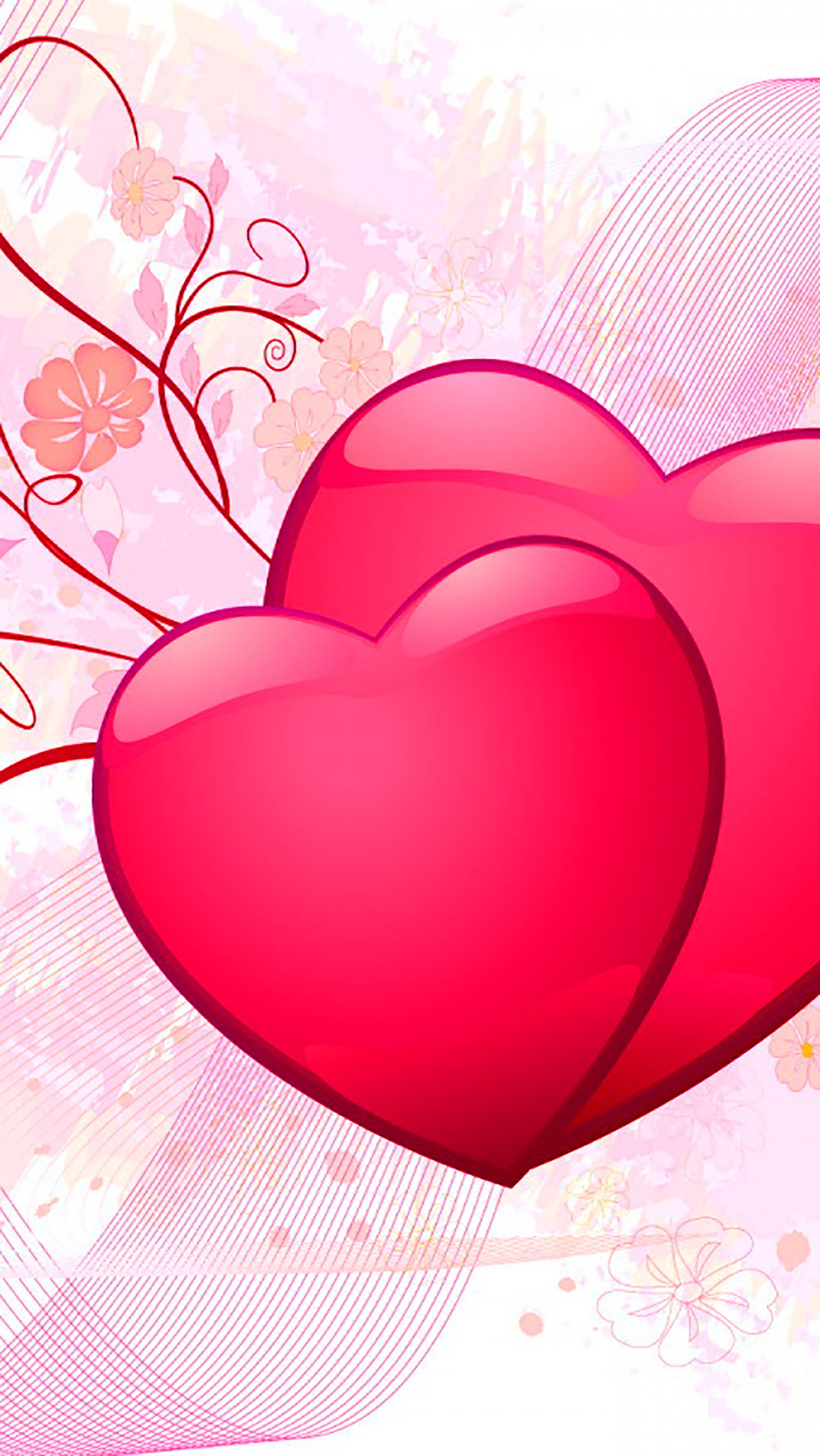 Heart 3 3Wallpapers iPhone Parallax Heart : 3