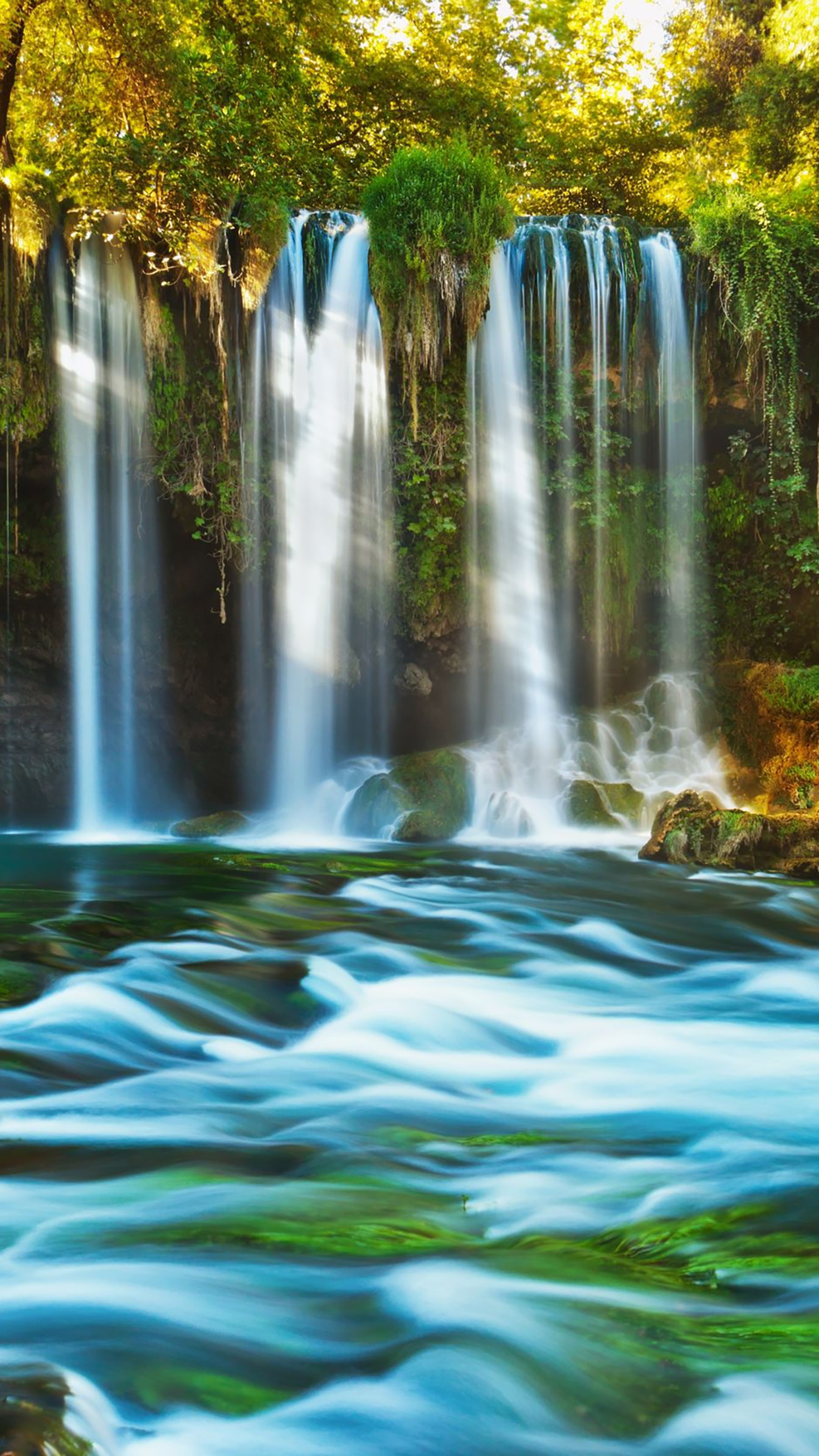 Waterfall 1 3Wallpapers iPhone Parallax Les 3Wallpapers iPhone du jour ...