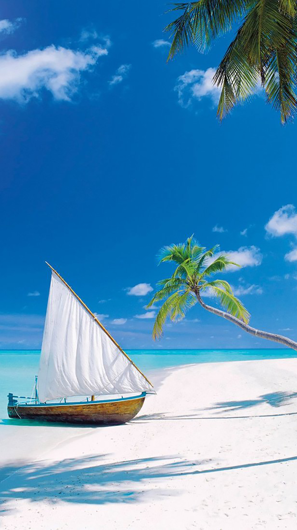 Iles Maldives 1 Wallpaper For Iphone X 8 7 6 Free