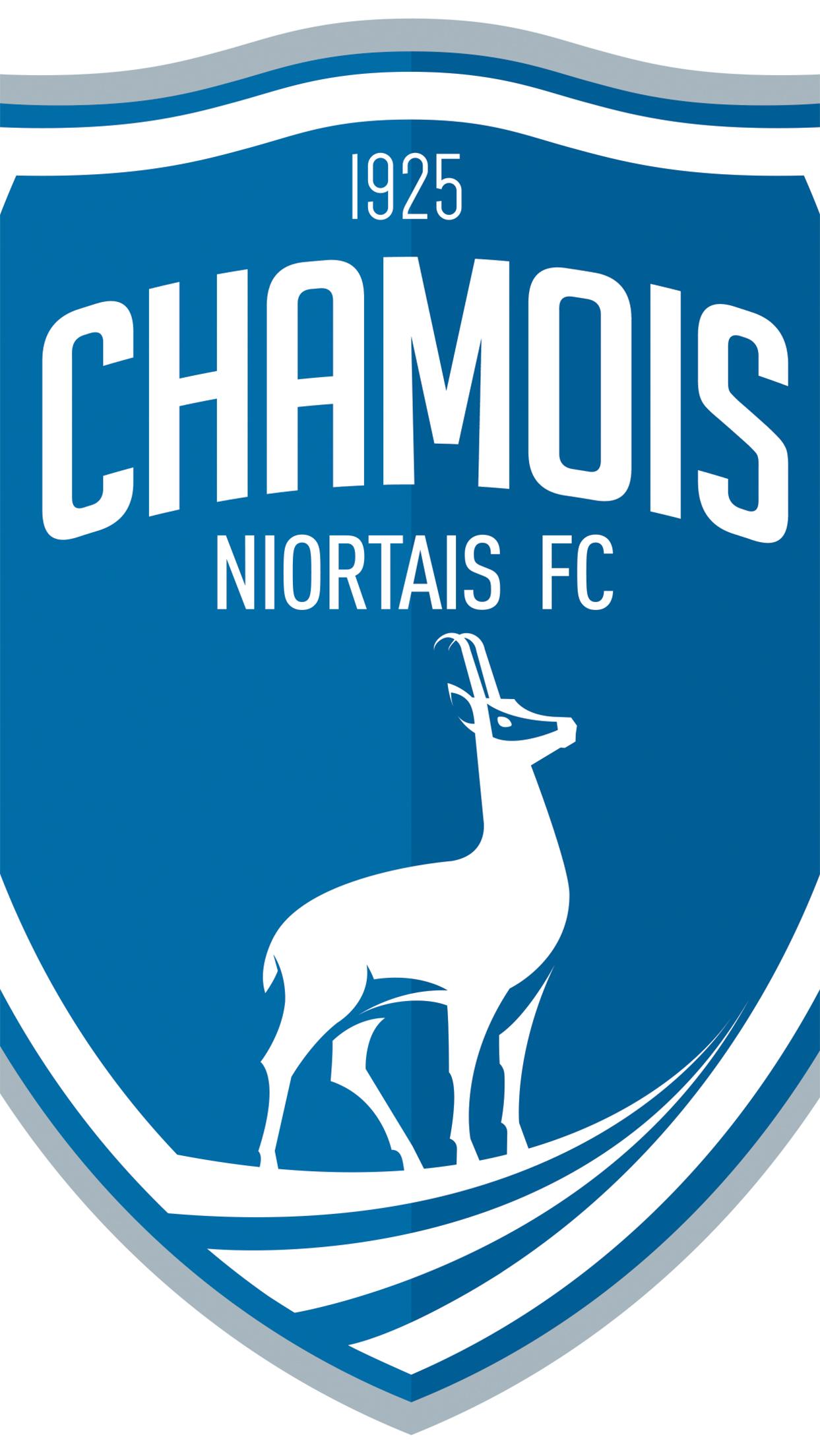 Niort Chamois Logo 1 3Wallpapers iPhone Parallax Niort Chamois : Logo 1