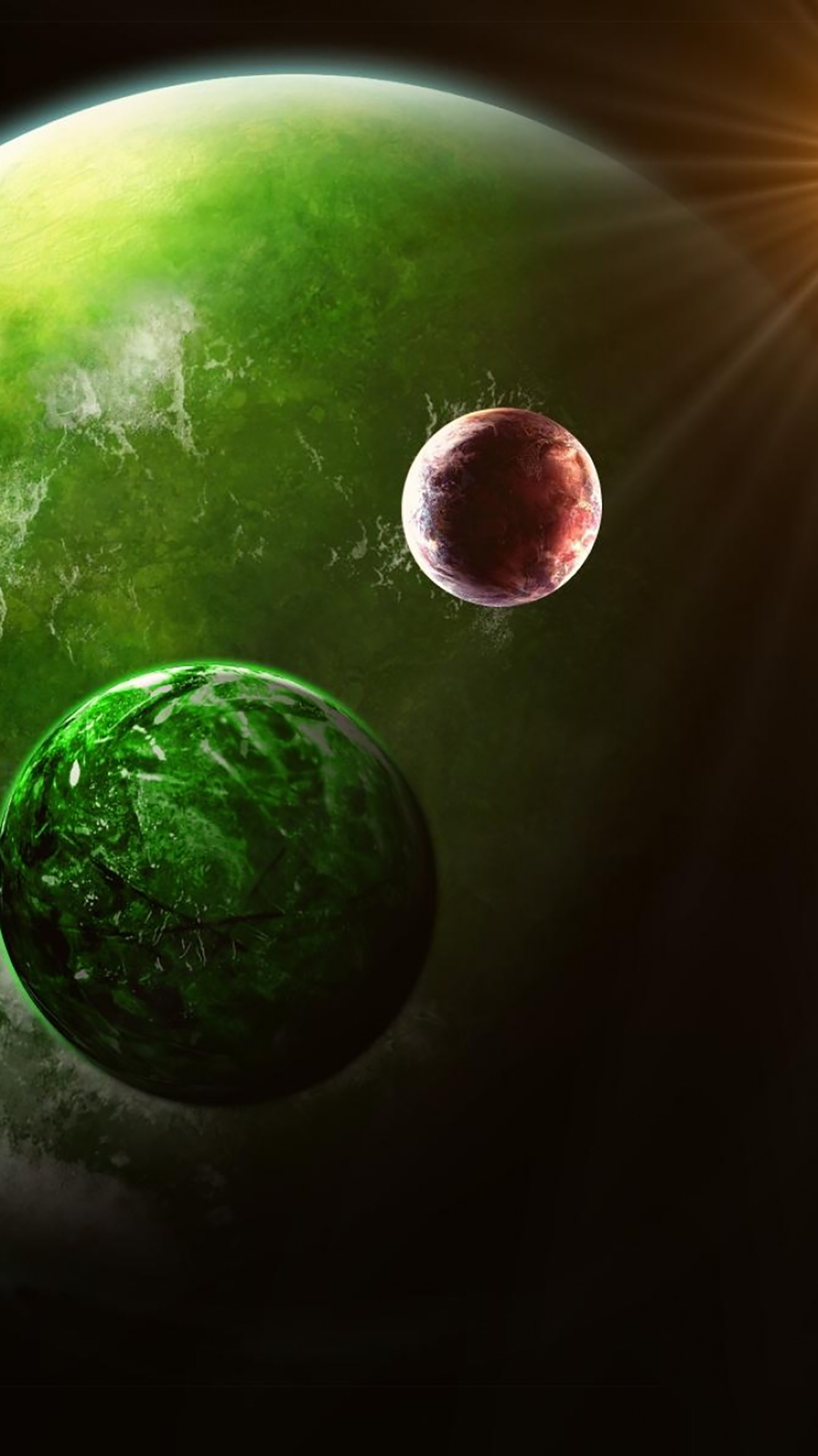 Planet 2 3Wallpapers iPhone Parallax Planet : 2
