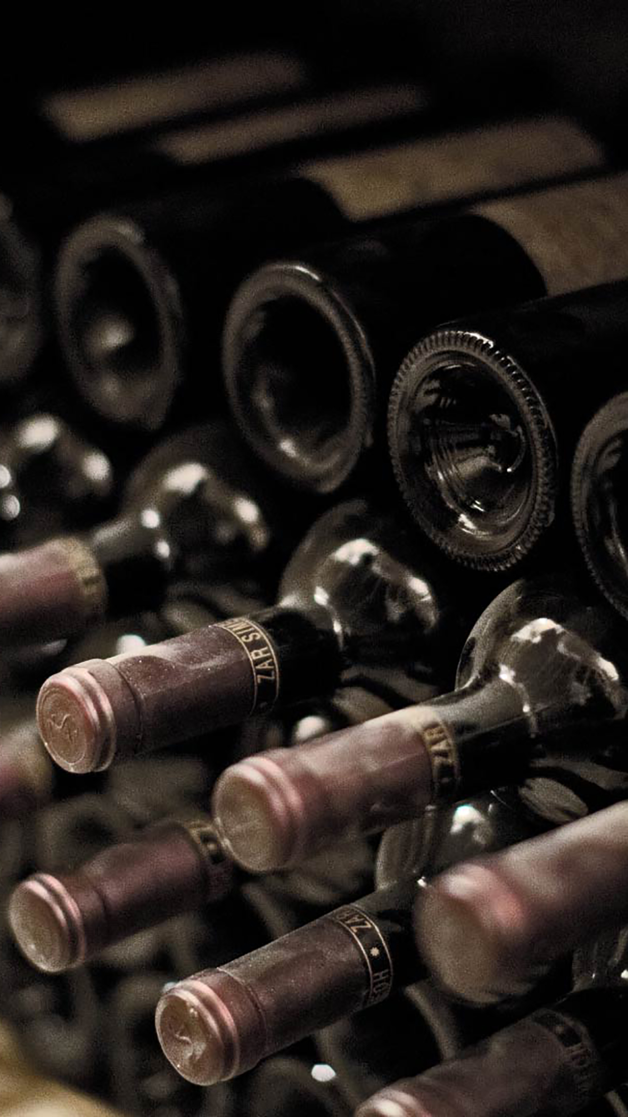 Wine Cellar 3 3Wallpapers iPhone Parallax Wine Cellar : 3