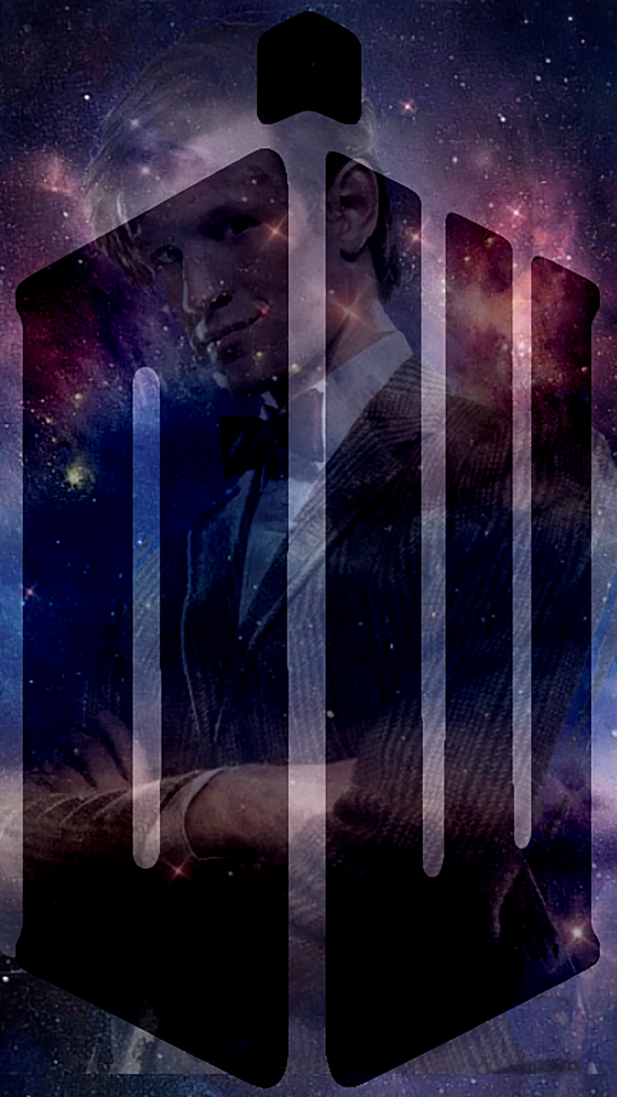 Doctor Who DW 3Wallpapers iPhone Parallax Doctor Who : DW