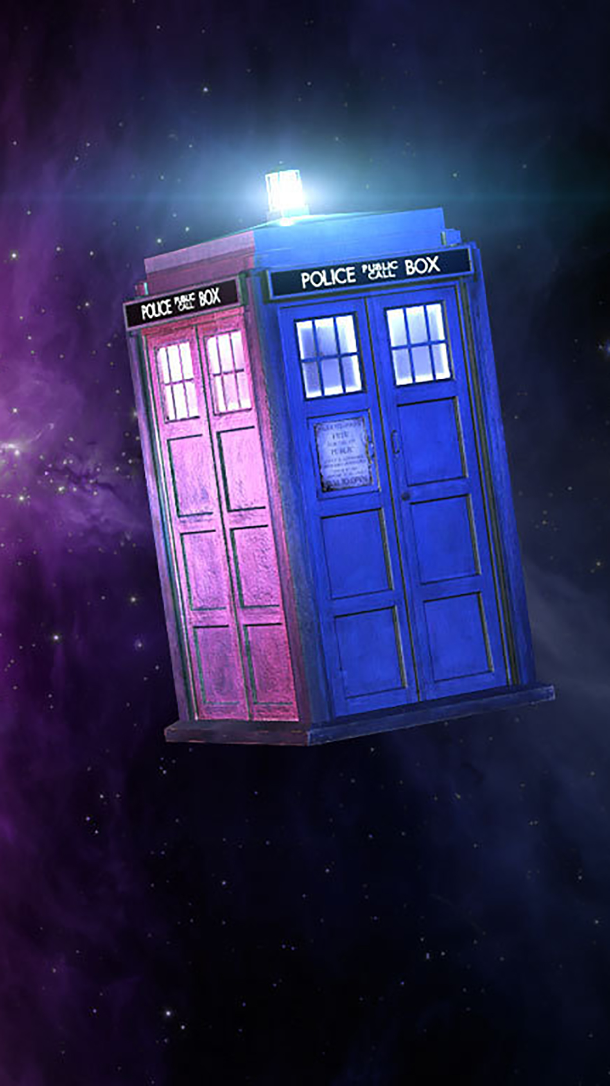 Doctor Who Public Call Box Wallpaper For Iphone 11 Pro Max X