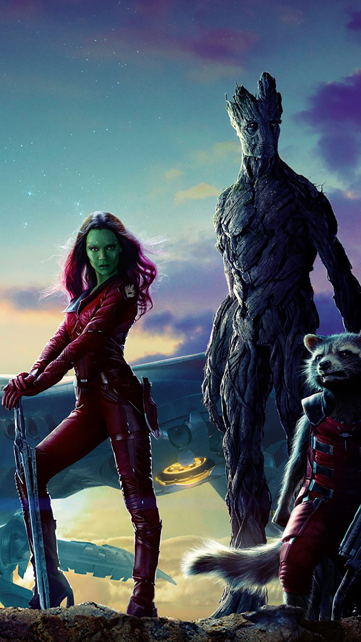 Guardians Of The Galaxy Poster 3 3Wallpapers iPhone Parallax Guardians Of The Galaxy : Poster 3