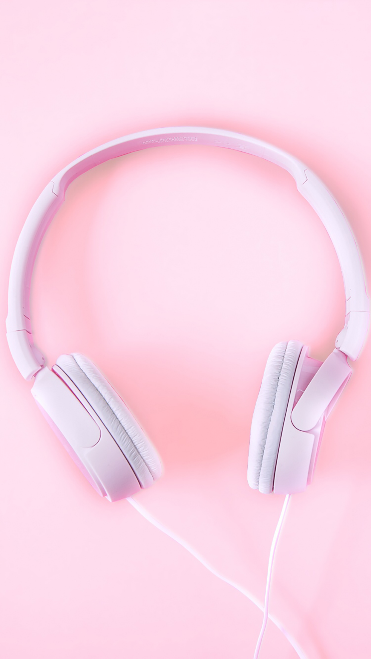 Headphones Pink 3Wallpapers iPhone Parallax Headphones : Pink