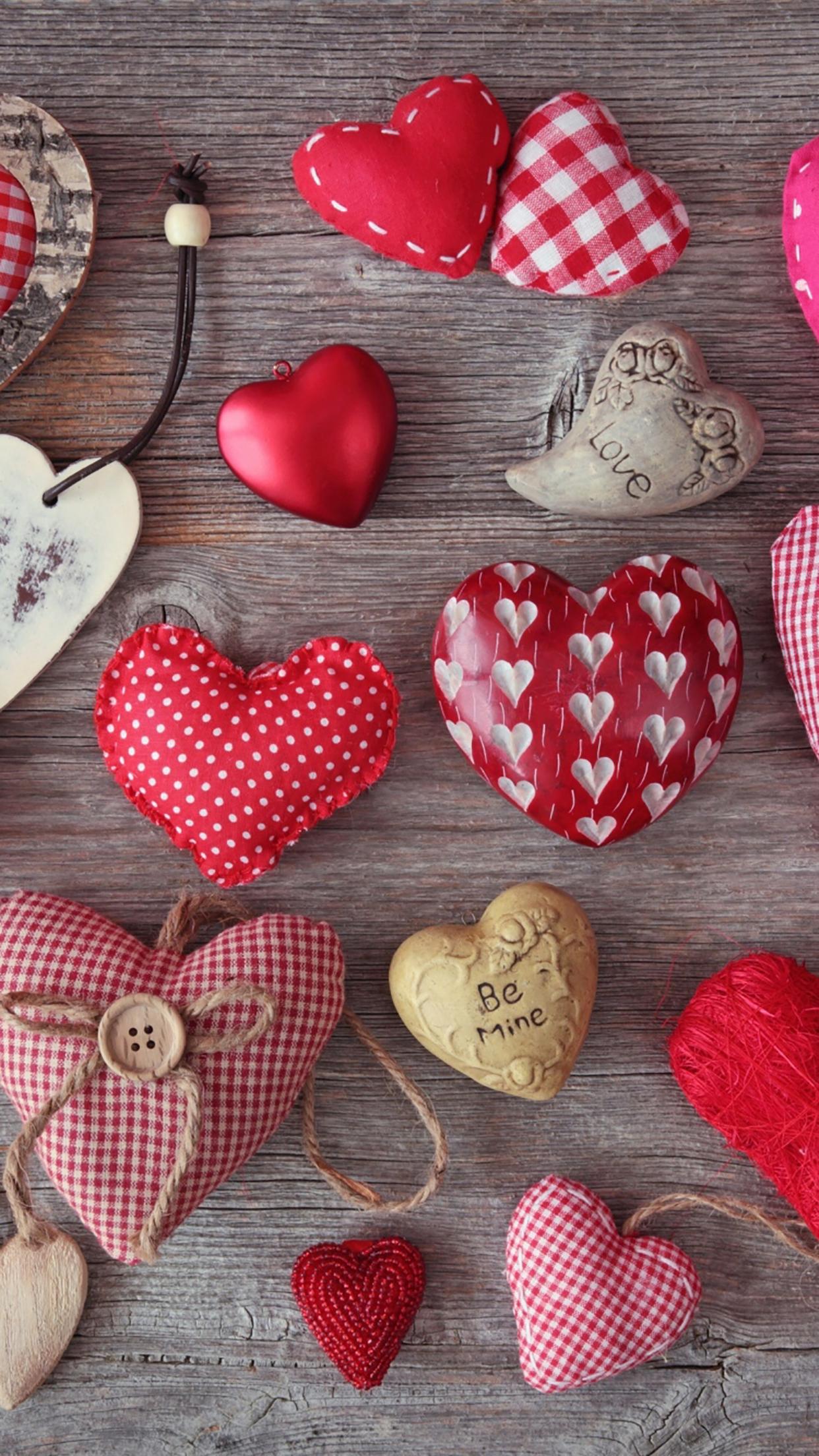 Heart Many Hearts 3Wallpapers iPhone Parallax Heart : Many Hearts