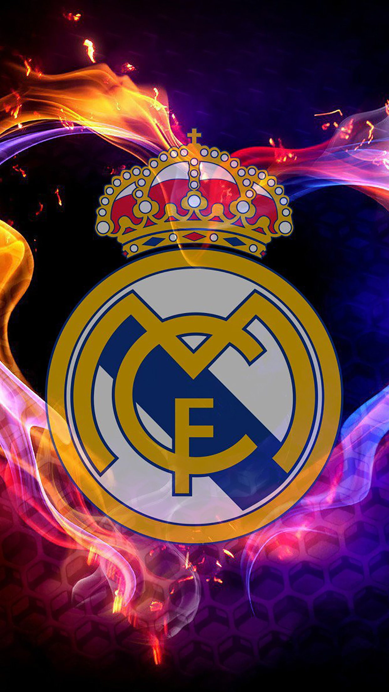 Real Madrid Logo 2 3Wallpapers iPhone Parallax Les 3Wallpapers iPhone du jour (18/05/2017)