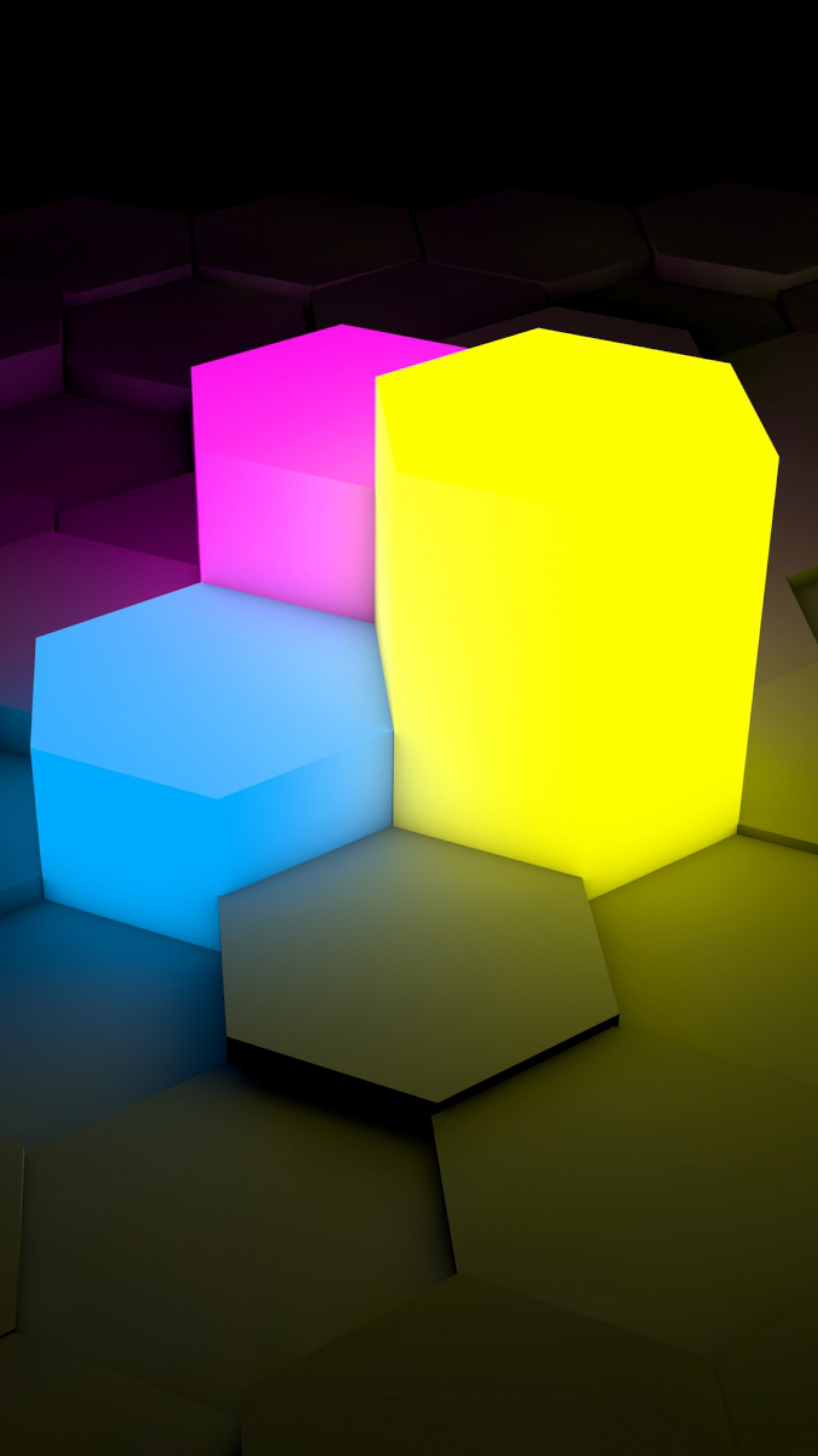 3D Picture Lights 3Wallpapers iPhone Parallax 3D Picture : Lights